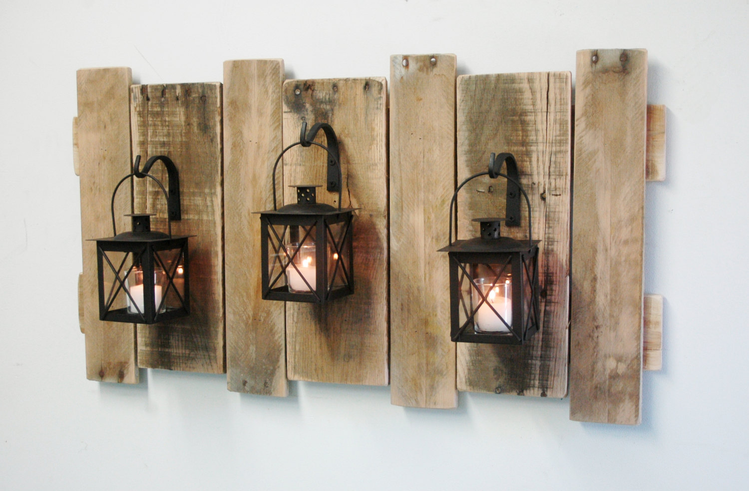 Chic Idea Large Rustic Wall Art Together With Decor Metal In Large Modern Industrial Wall Decor (Photo 21 of 30)