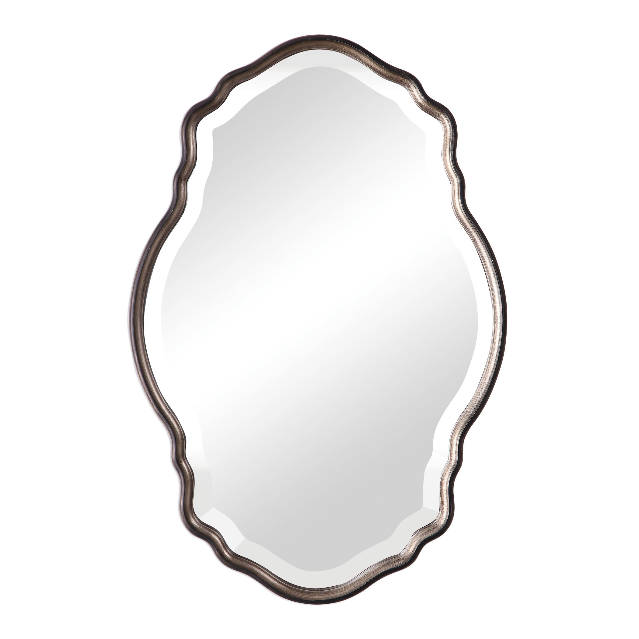 Christner Modern & Contemporary Beveled Wall Mirror Pertaining To Estefania Frameless Wall Mirrors (View 5 of 30)