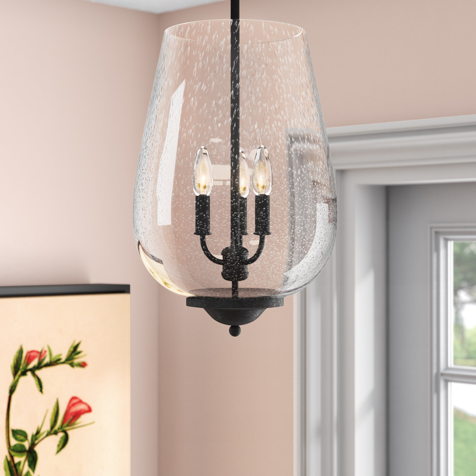 Chubbuck 3-Light Single Urn Pendant with 3-Light Single Urn Pendants (Image 7 of 30)