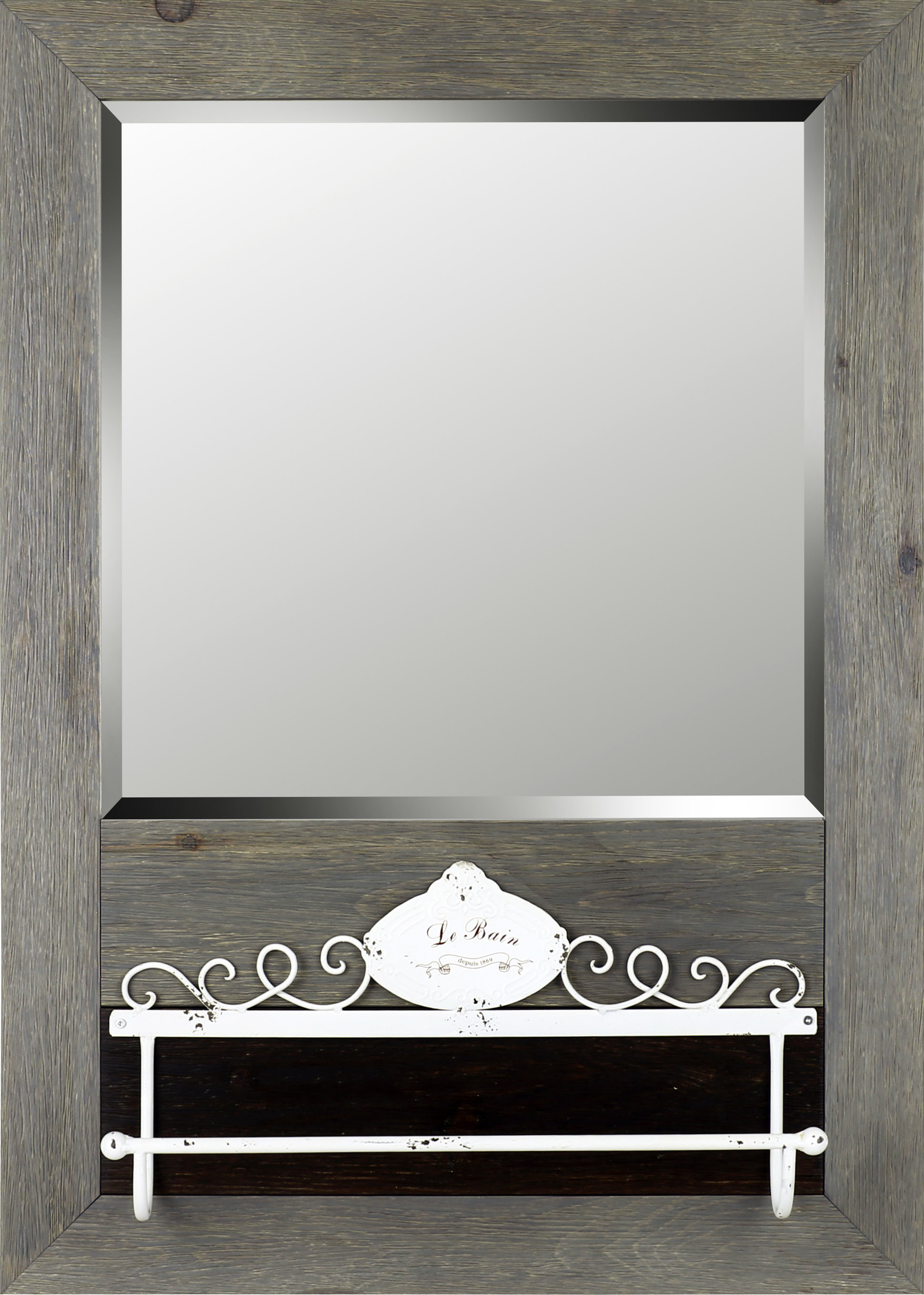 Cian Modern & Contemporary Beveled Wall Mirror with regard to Modern & Contemporary Beveled Wall Mirrors (Image 4 of 30)