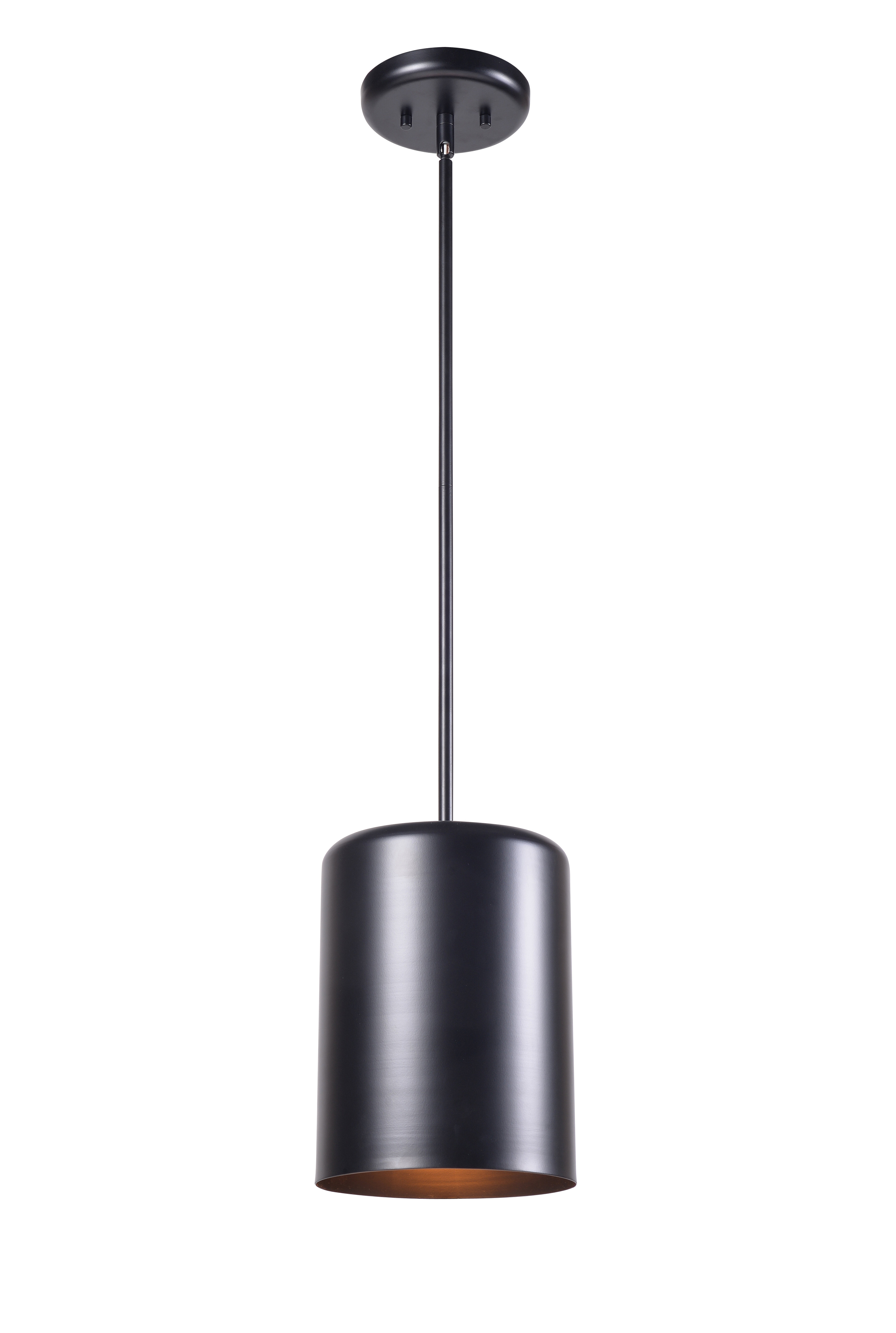Clancy 1 Light Single Cylinder Pendant Within Angelina 1 Light Single Cylinder Pendants (Image 10 of 30)