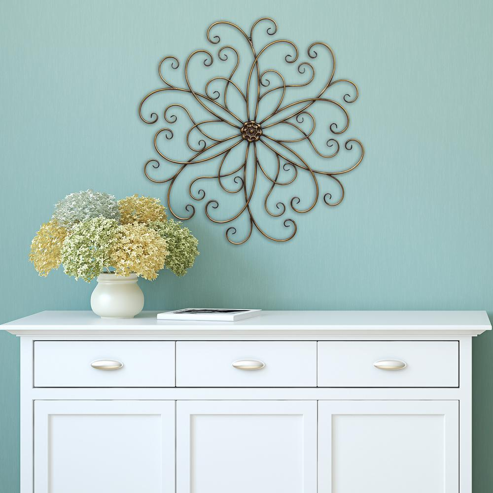 Classic Medallion Wall Decor with European Medallion Wall Decor (Image 6 of 30)