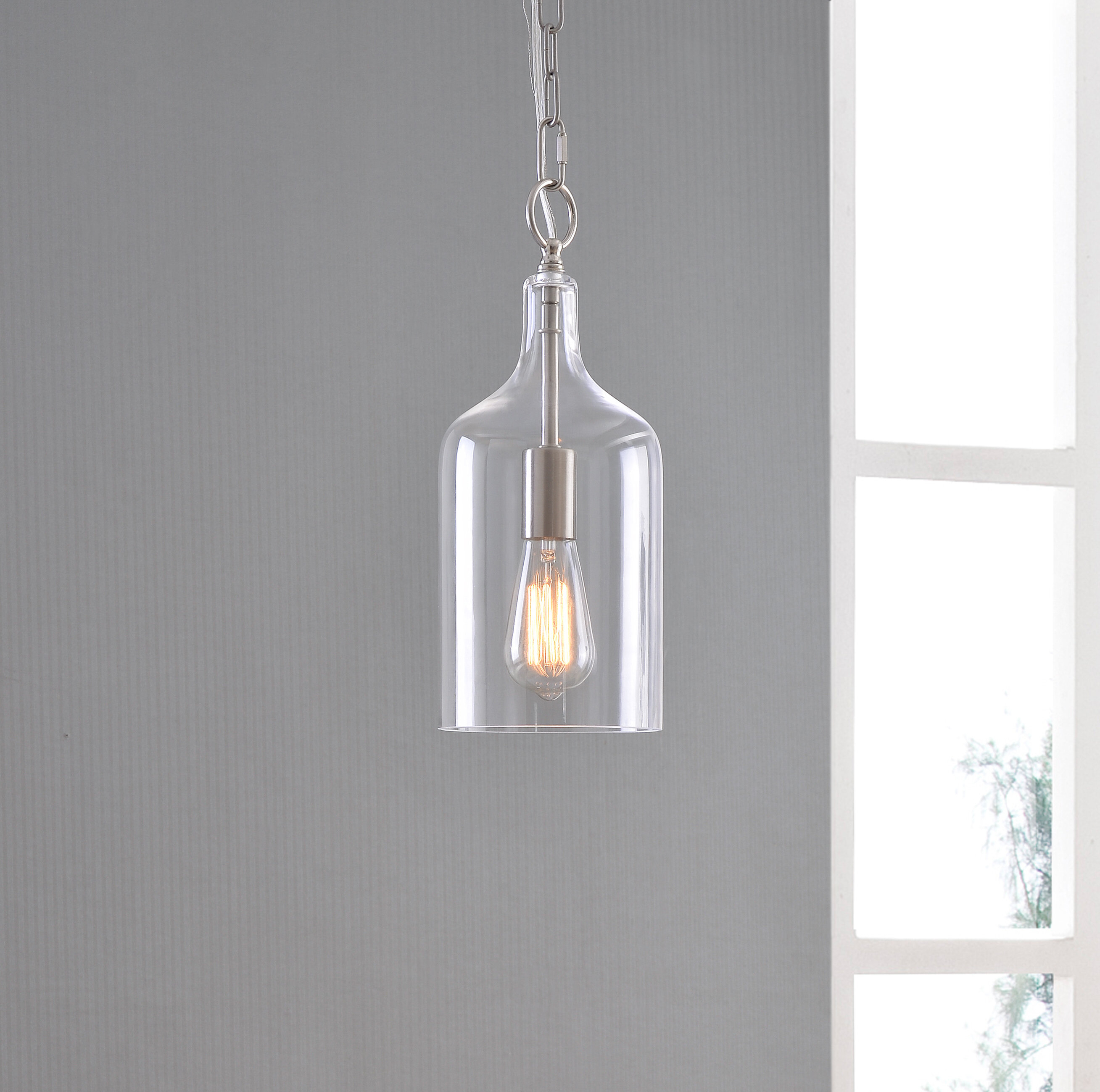 Clematite 1 Light Geometric Pendant With Sussex 1 Light Single Geometric Pendants (View 7 of 30)