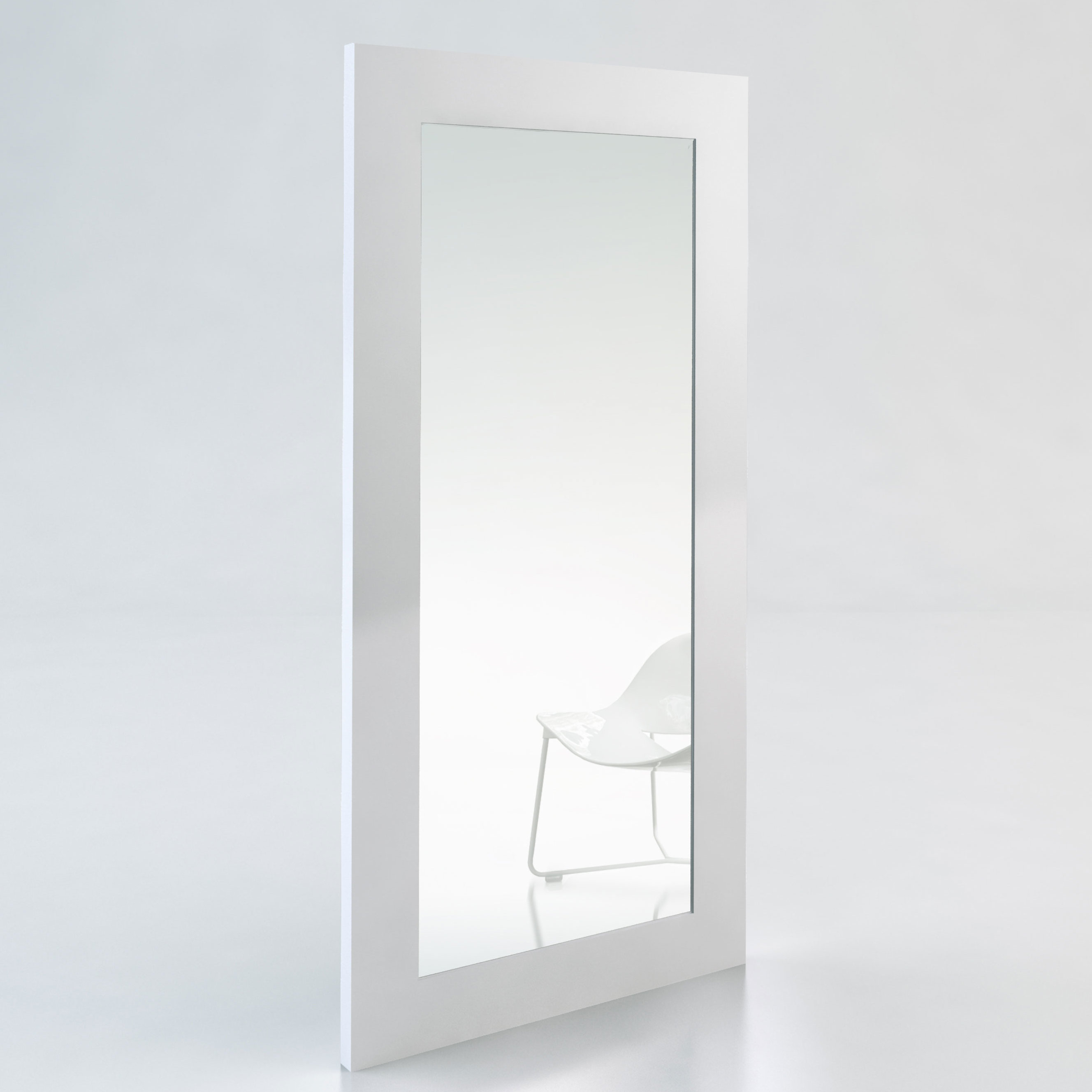 Cleobury Modern & Contemporary Full Length Mirror Pertaining To Modern & Contemporary Full Length Mirrors (View 18 of 30)