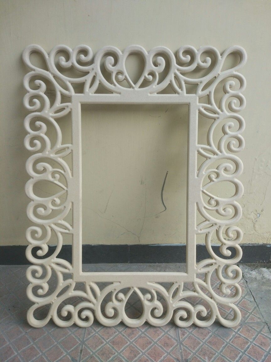 Cnc Frame For Photo Or Mirror #cncart #cncframe | Cncart within Derick Accent Mirrors (Image 16 of 30)