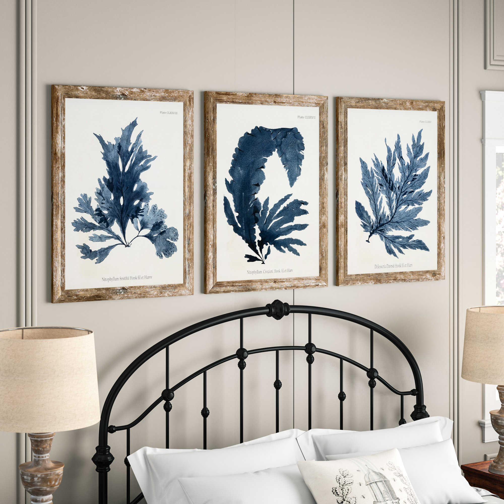 Coastal Wall Art | Birch Lane With Reeds Migration Wall Decor Sets (set Of 3) (View 5 of 30)