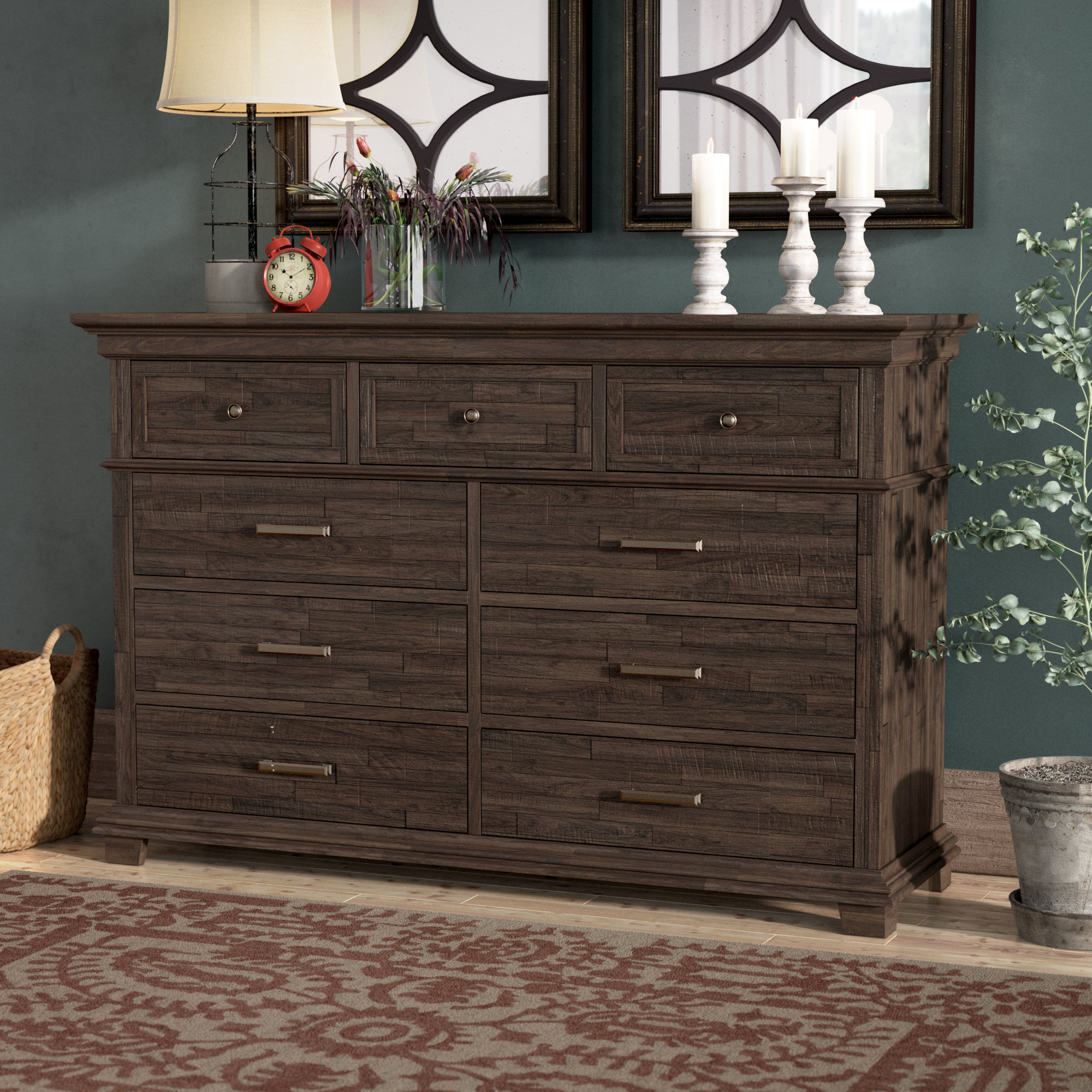 Colborne 9 Drawer Dresser With Regard To Colborne Sideboards (View 8 of 30)