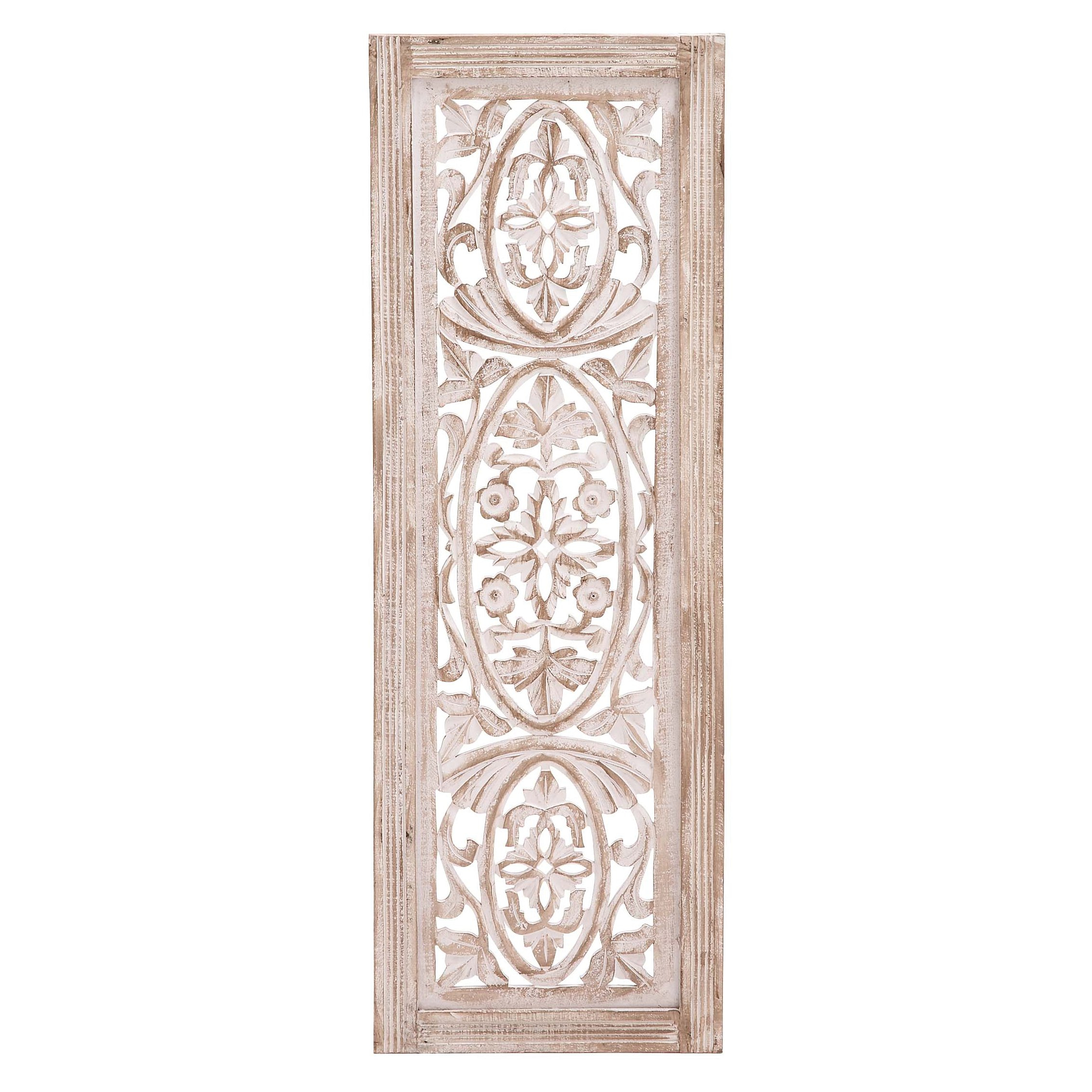 Cole & Grey Wood Wall Decor & Reviews Wayfair, Living Room With Wall Decor By Cole & Grey (View 21 of 30)