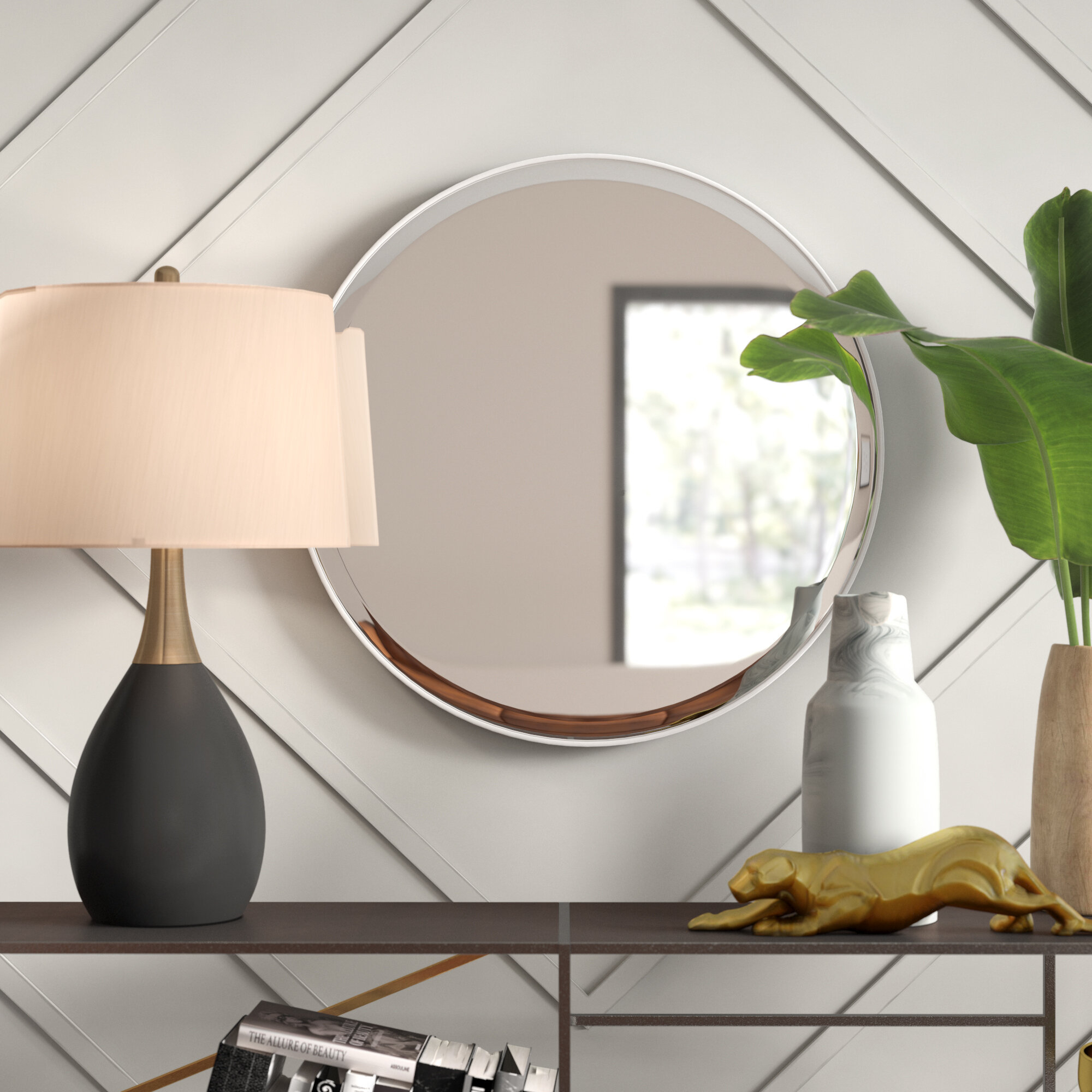 Popular Photo of Colton Modern & Contemporary Wall Mirrors