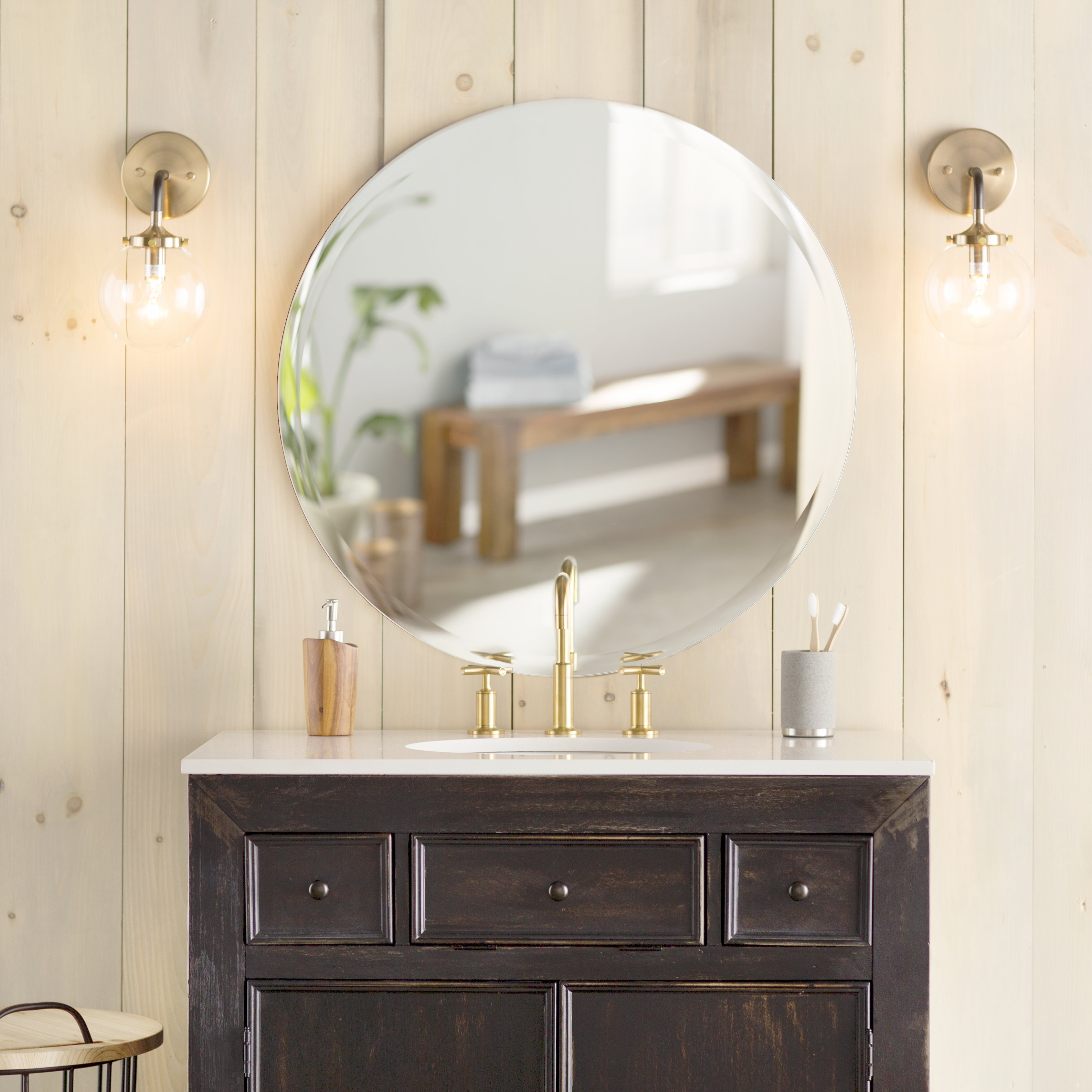 Colton Wall Mirror Pertaining To Colton Modern & Contemporary Wall Mirrors (View 10 of 30)