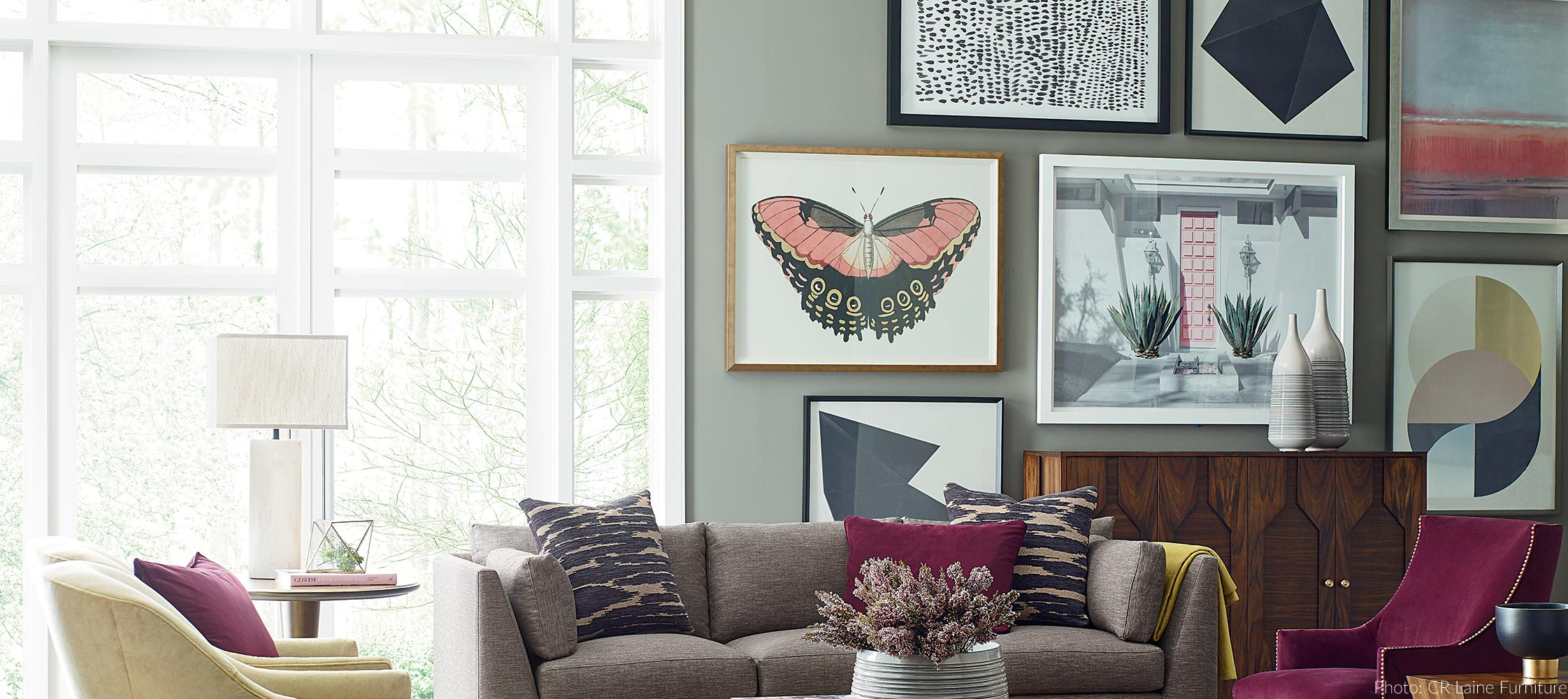 Commercial, Retail & Hospitality Wall Décor | Wendoverart Throughout 3 Piece Capri Butterfly Wall Decor Sets (View 24 of 30)