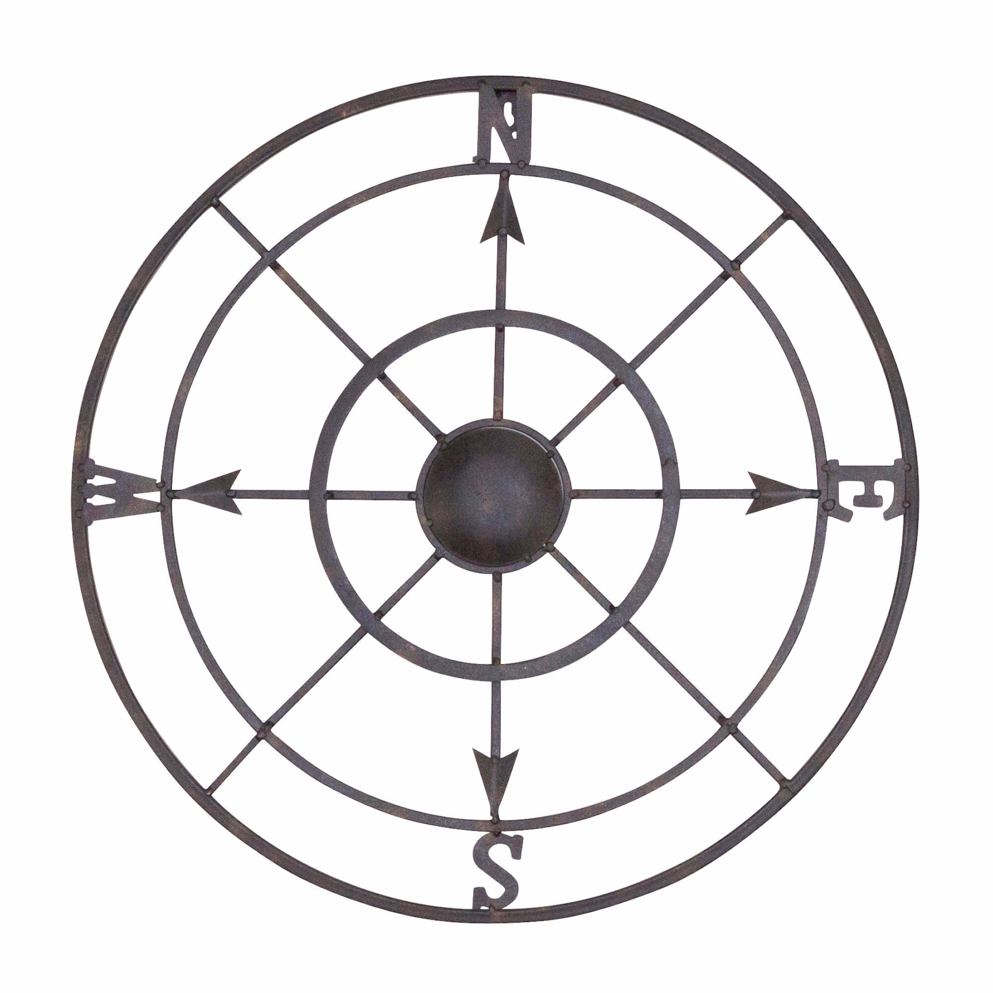 Compass Rose Wall Art | Wayfair pertaining to Round Compass Wall Decor (Image 7 of 30)