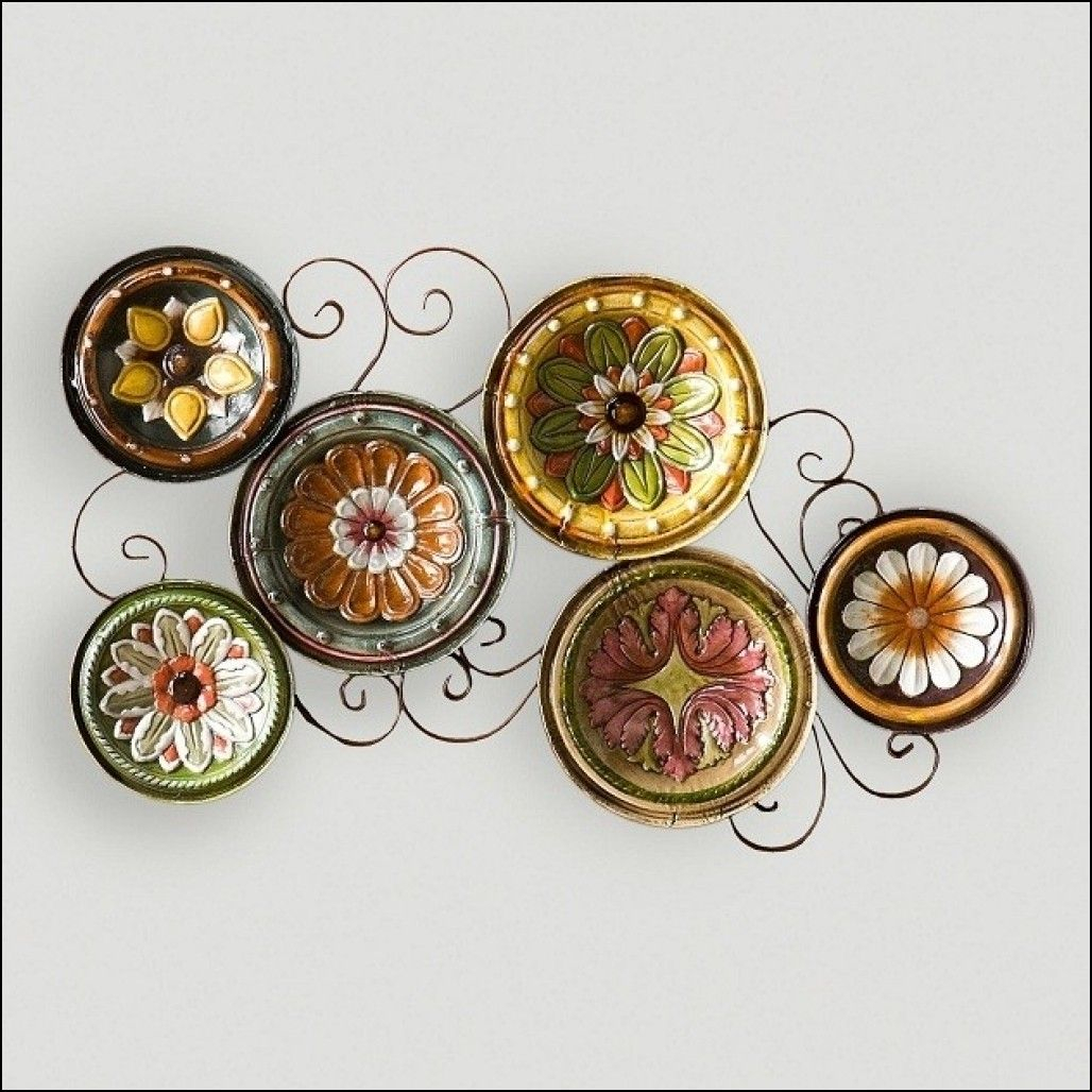 Complete Your Wall Decor With Decorative Plates | Decor with regard to Scattered Metal Italian Plates Wall Decor (Image 6 of 30)