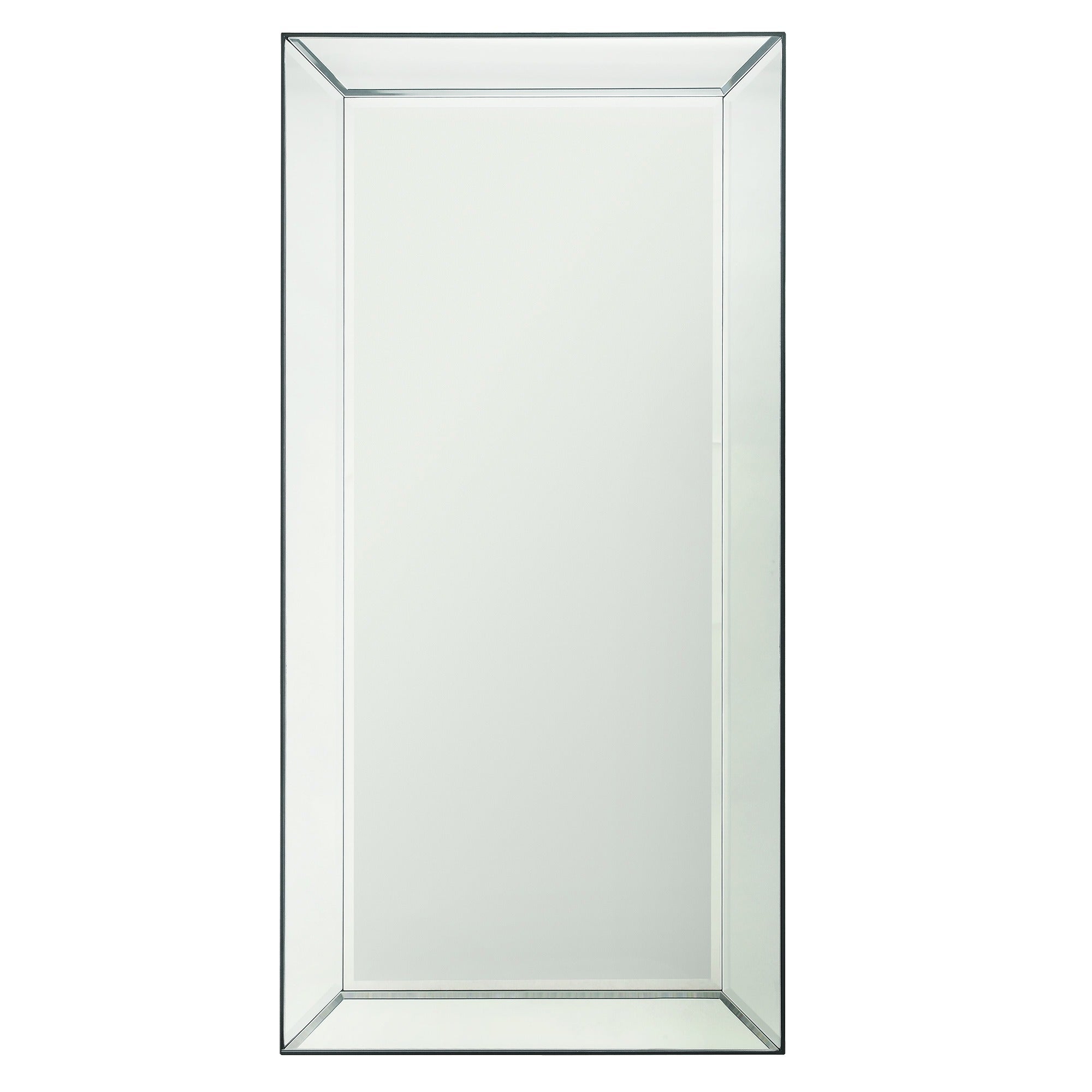 Conrad Mirrored Frame Rectangular Accent Wall Mirrorinspire Q Bold – Silver Regarding Rectangle Accent Wall Mirrors (View 10 of 30)