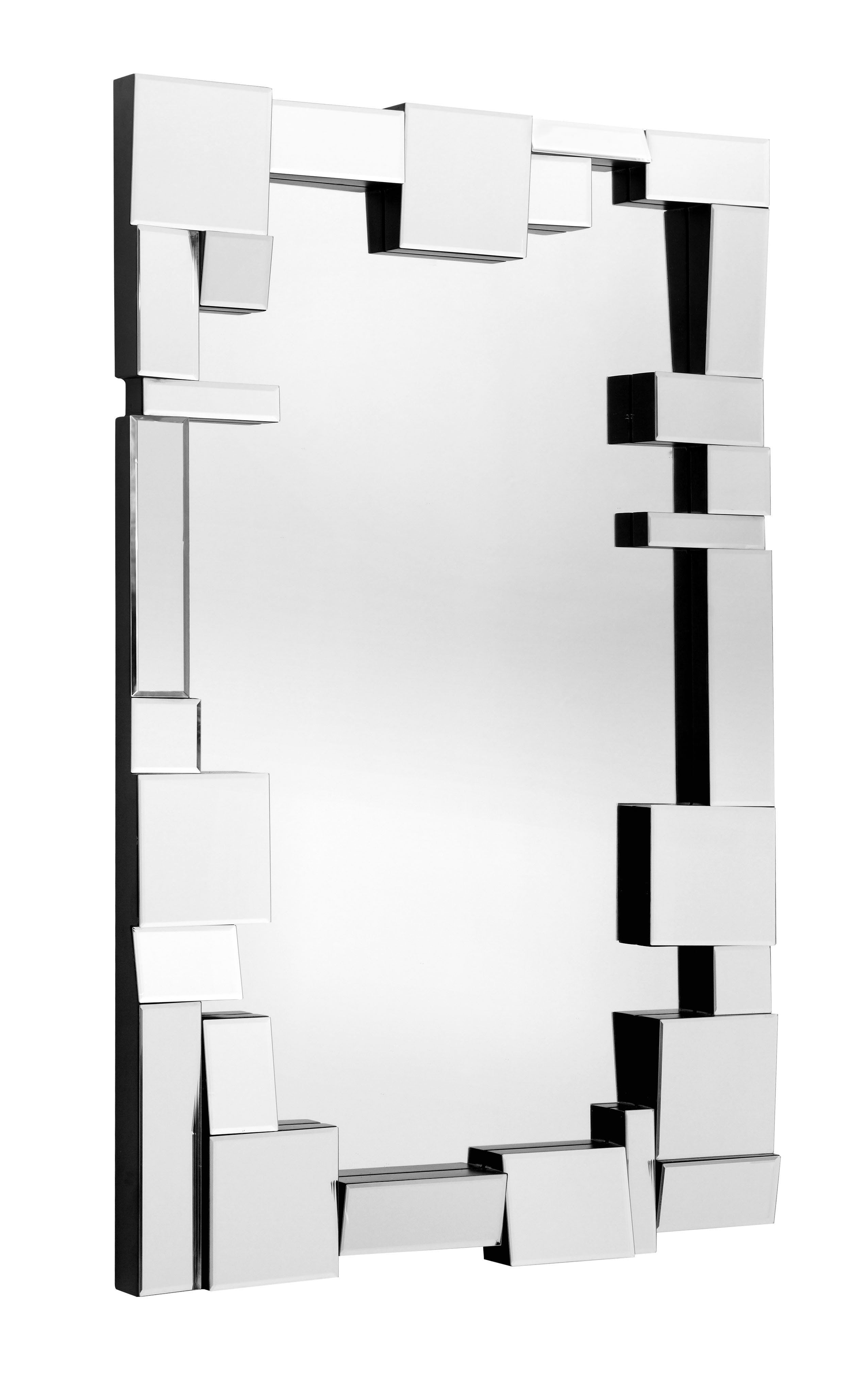 Construct Mirrorzuo Modern | Products | Mirror, Home with Pennsburg Rectangle Wall Mirror (Image 4 of 30)