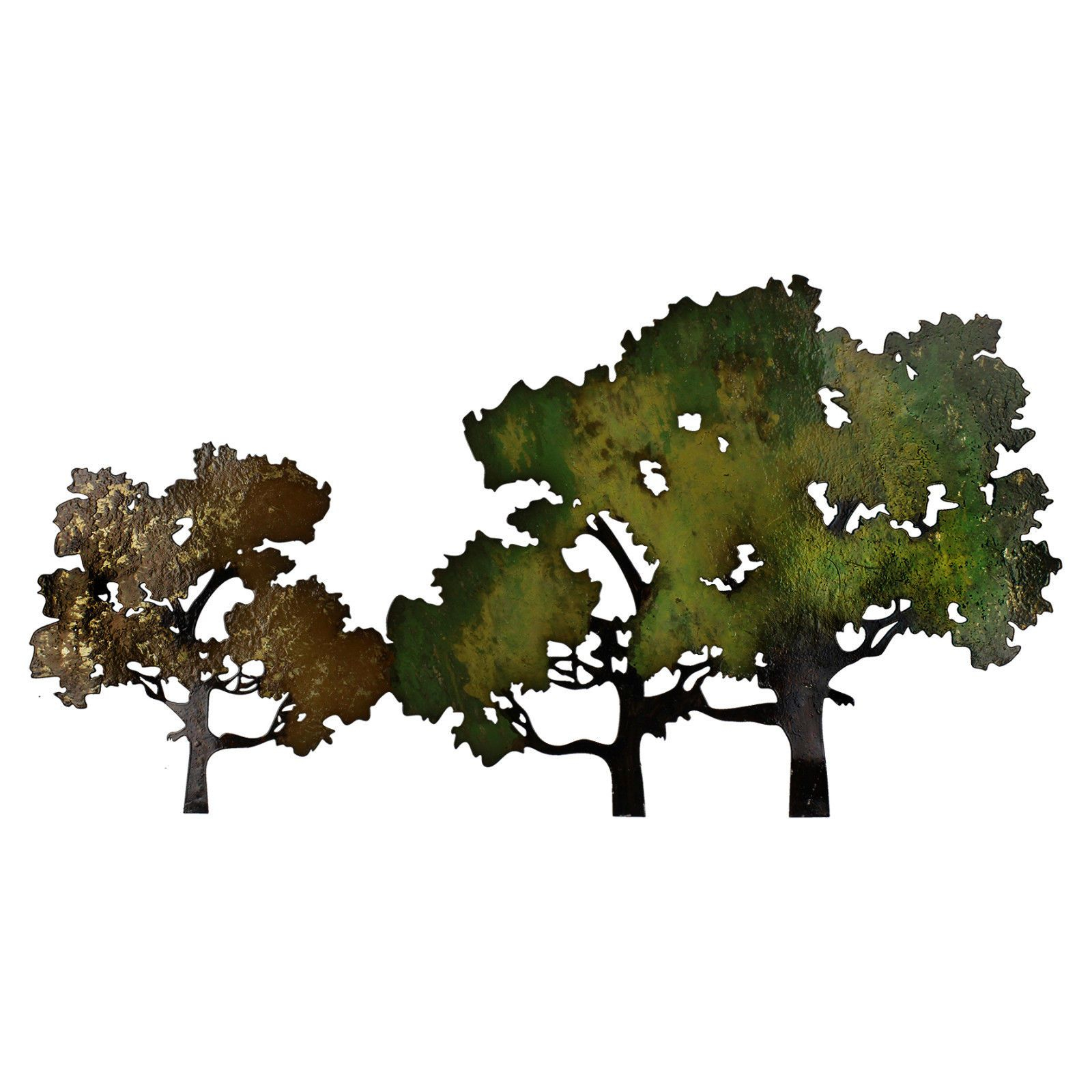 Contemporary Forest Metal Wall Art Decoration 41 X 77cm For Contemporary Forest Metal Wall Decor (View 4 of 30)