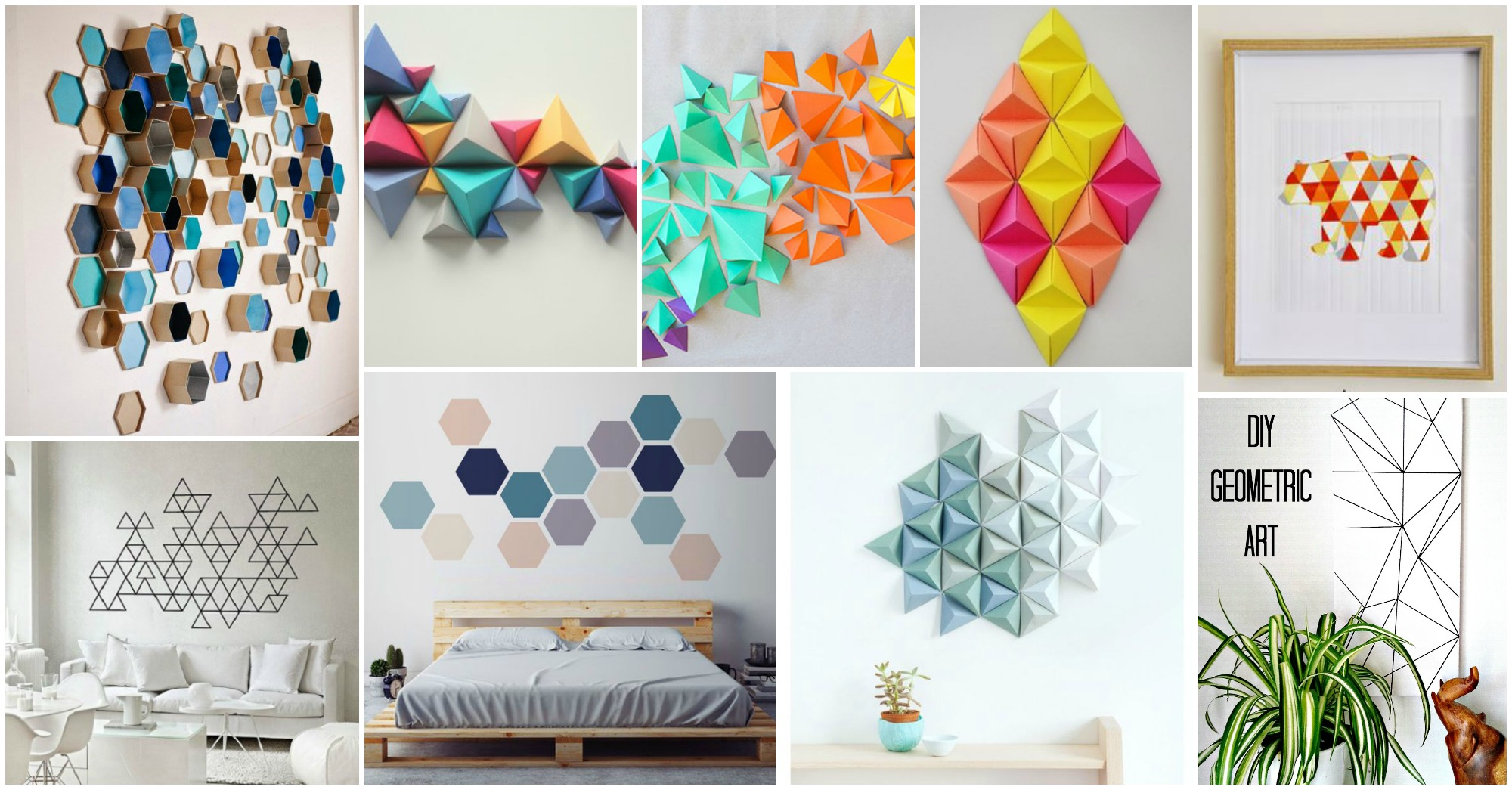 Contemporary Geometric Wall Art Crafts That Will Amaze You for Contemporary Geometric Wall Decor (Image 7 of 30)