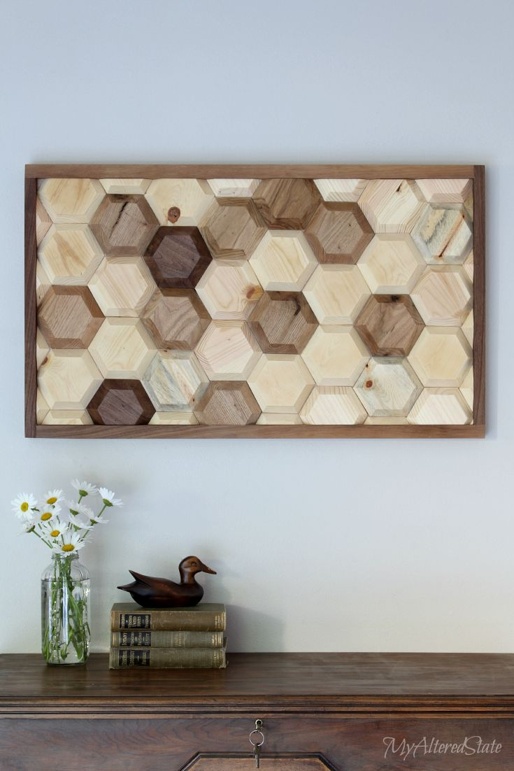 Contemporary Geometric Wall Art Crafts That Will Amaze You for Contemporary Geometric Wall Decor (Image 6 of 30)