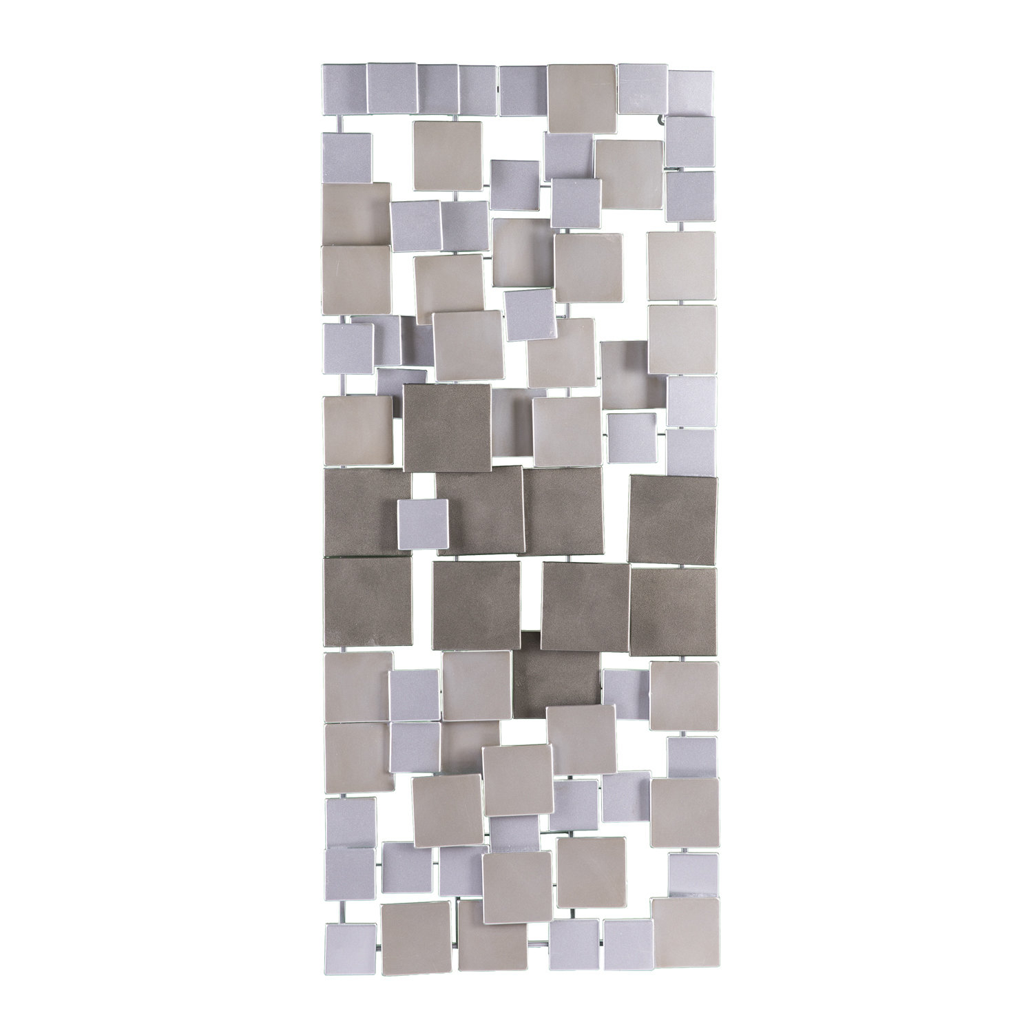 Contemporary Geometric Wall Décor inside Alvis Traditional Metal Wall Decor (Image 9 of 30)