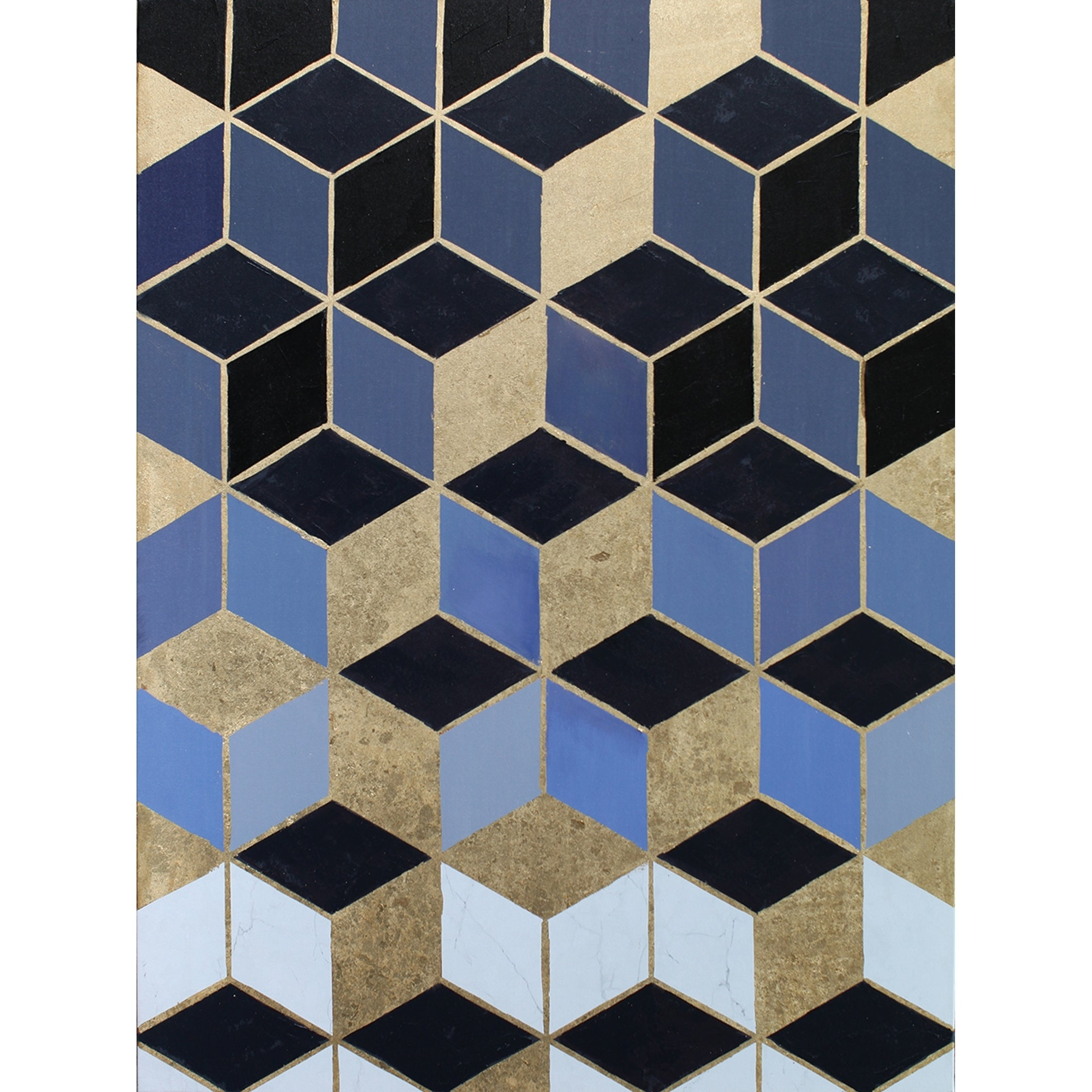 Contemporary Modern Geometric Canvas Wall Decor pertaining to Contemporary Geometric Wall Decor (Image 9 of 30)