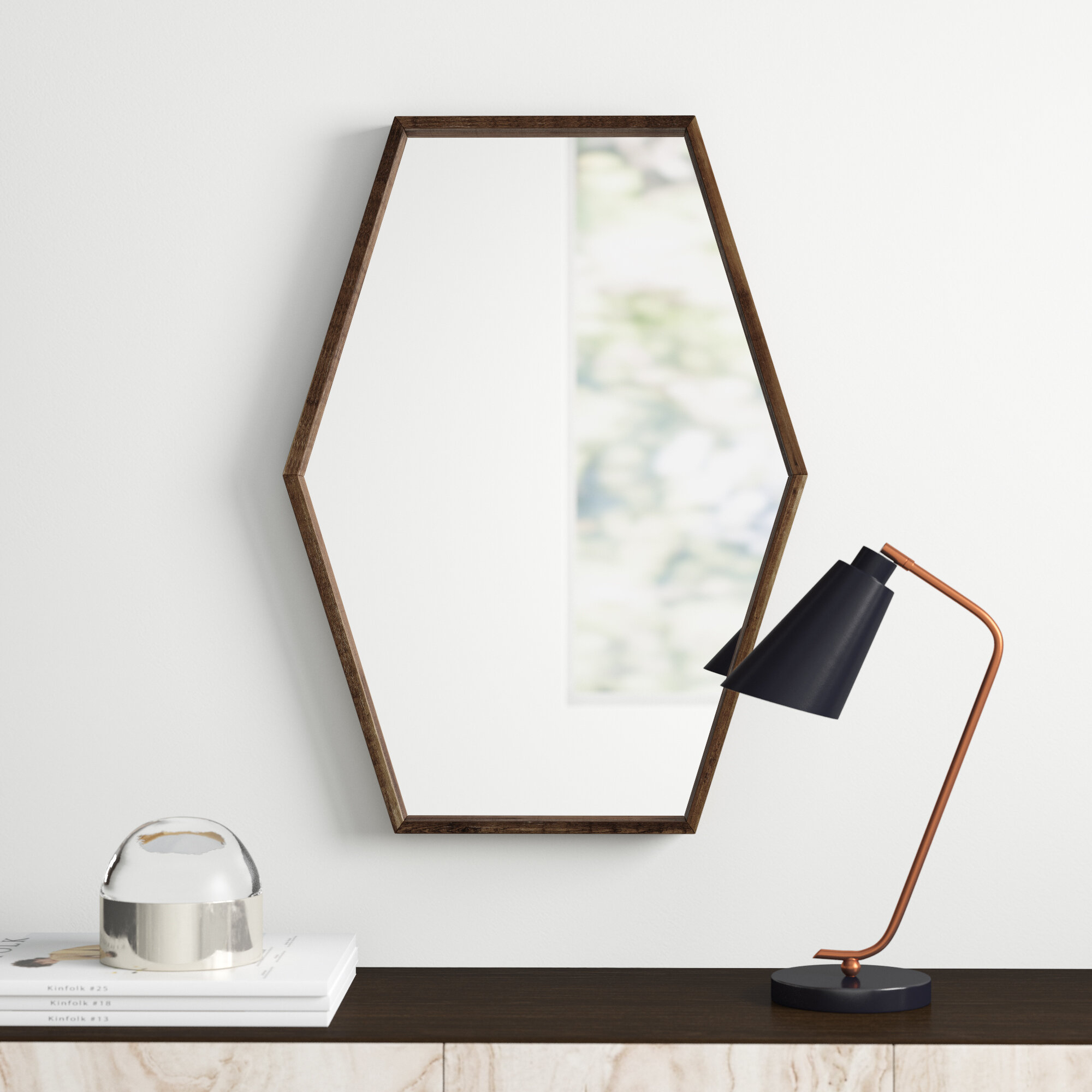 Corey Wood Accent Mirror Inside Wood Accent Mirrors (View 14 of 30)