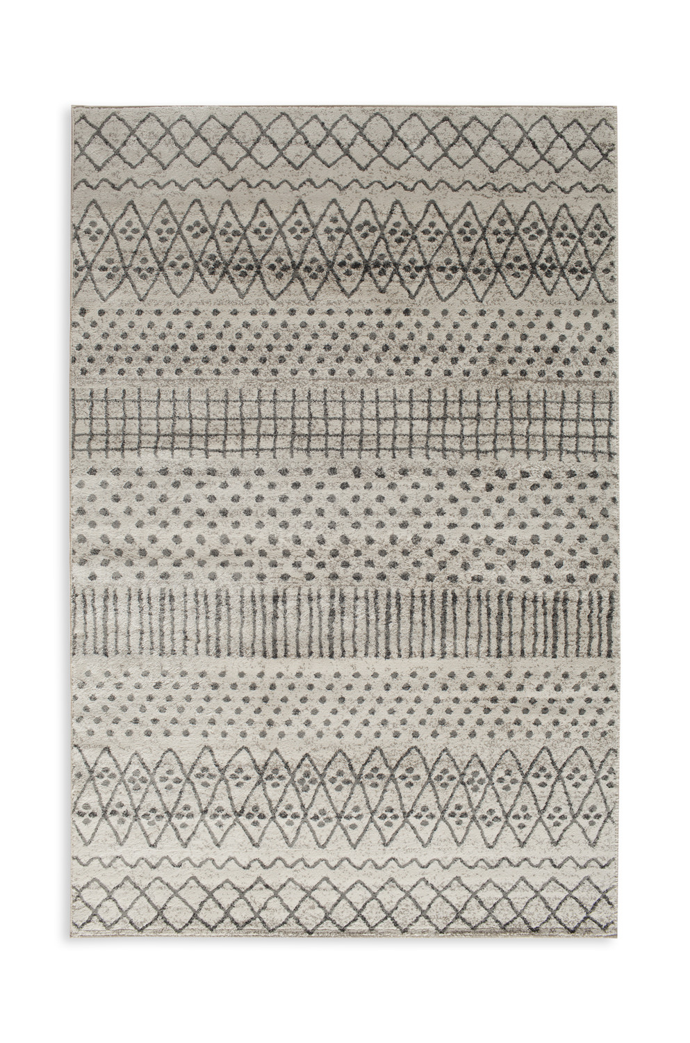 Corso Azzurro Alvis Birch/ Sterling Area Rug within Alvis Traditional Metal Wall Decor (Image 11 of 30)