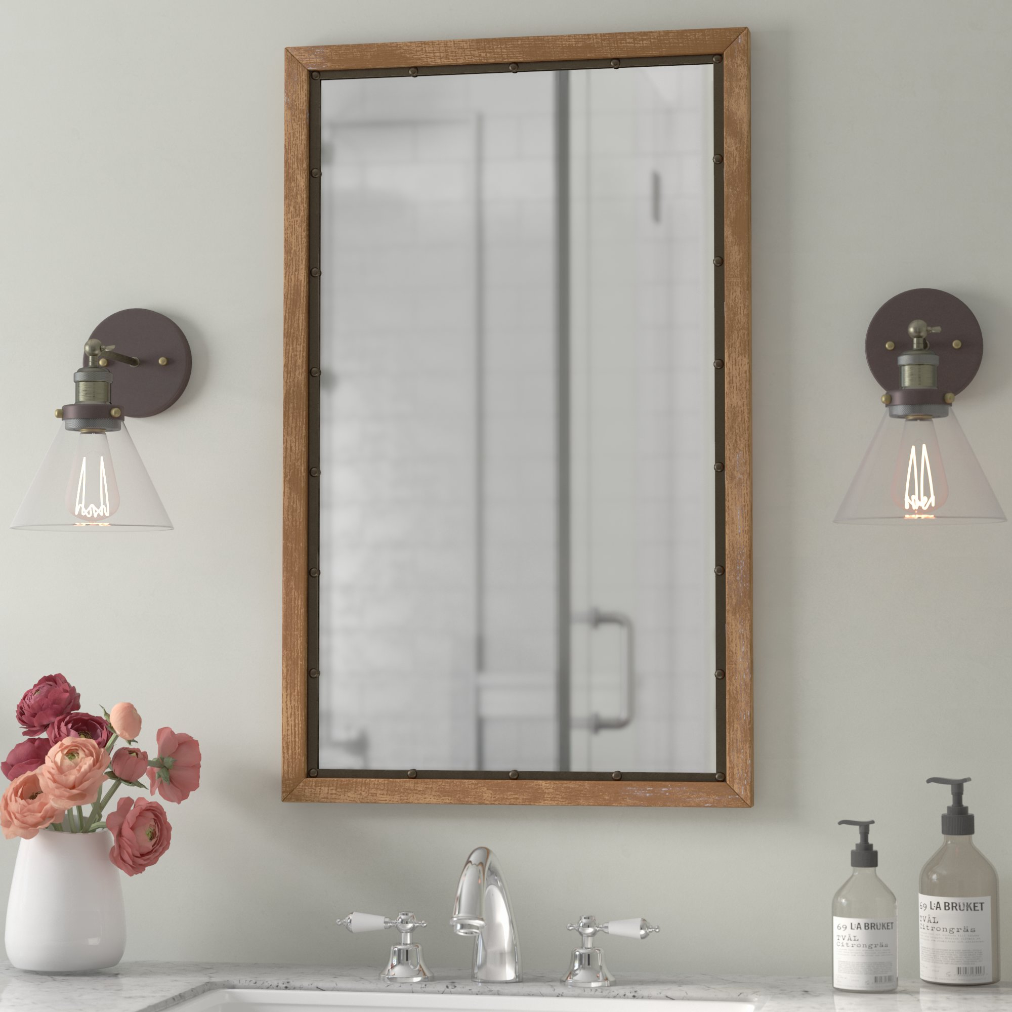 Cottage & Country Mirrors You'll Love In 2019 | Wayfair In Polen Traditional Wall Mirrors (View 21 of 30)