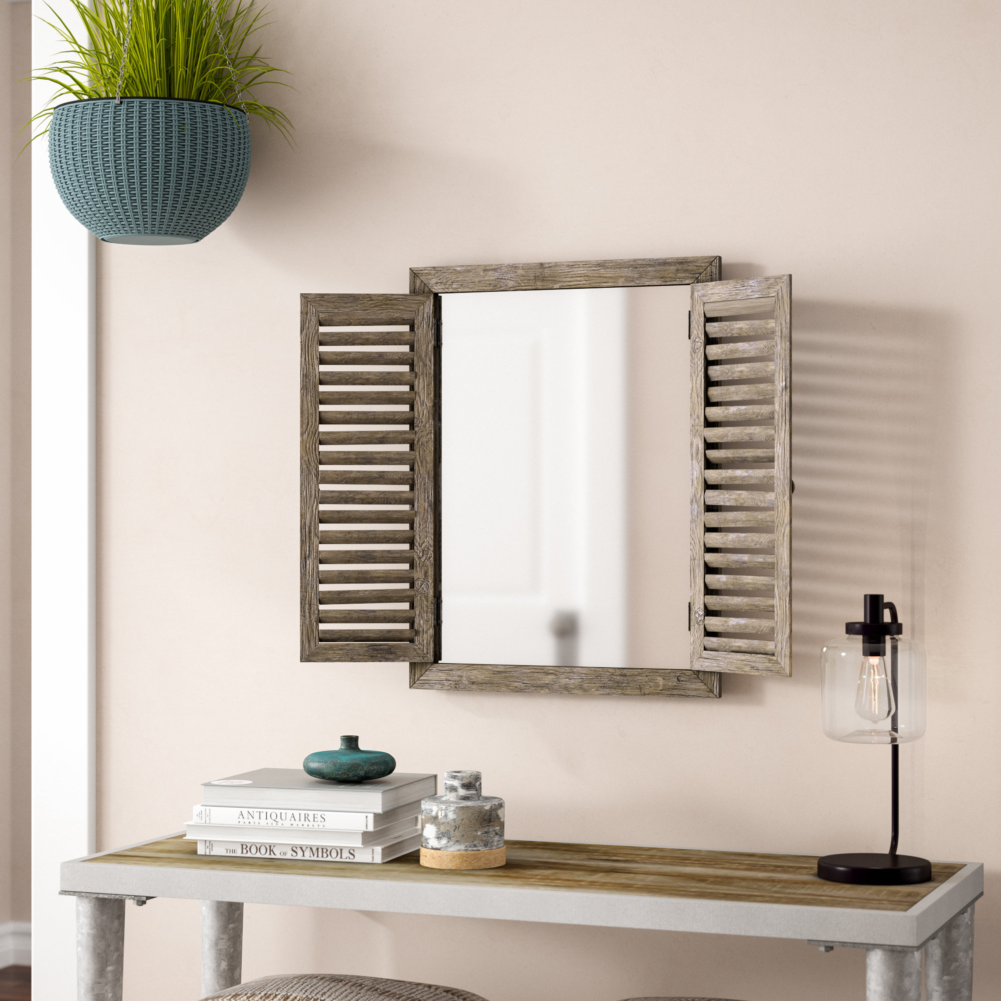 Cottage & Country Wall Mirrors You'll Love In 2019 | Wayfair (Image 7 of 30)