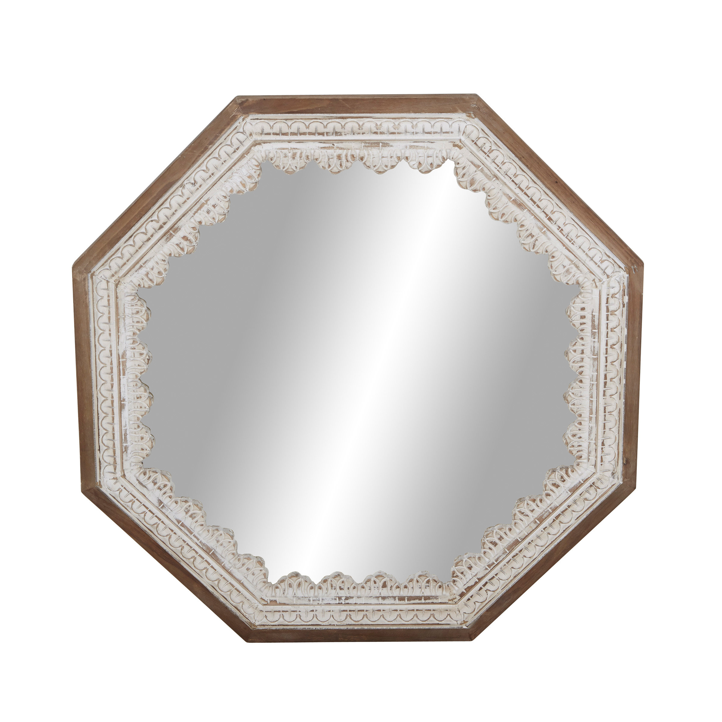 Country French Mirrors | Wayfair With Regard To Polito Cottage/country Wall Mirrors (Image 5 of 30)