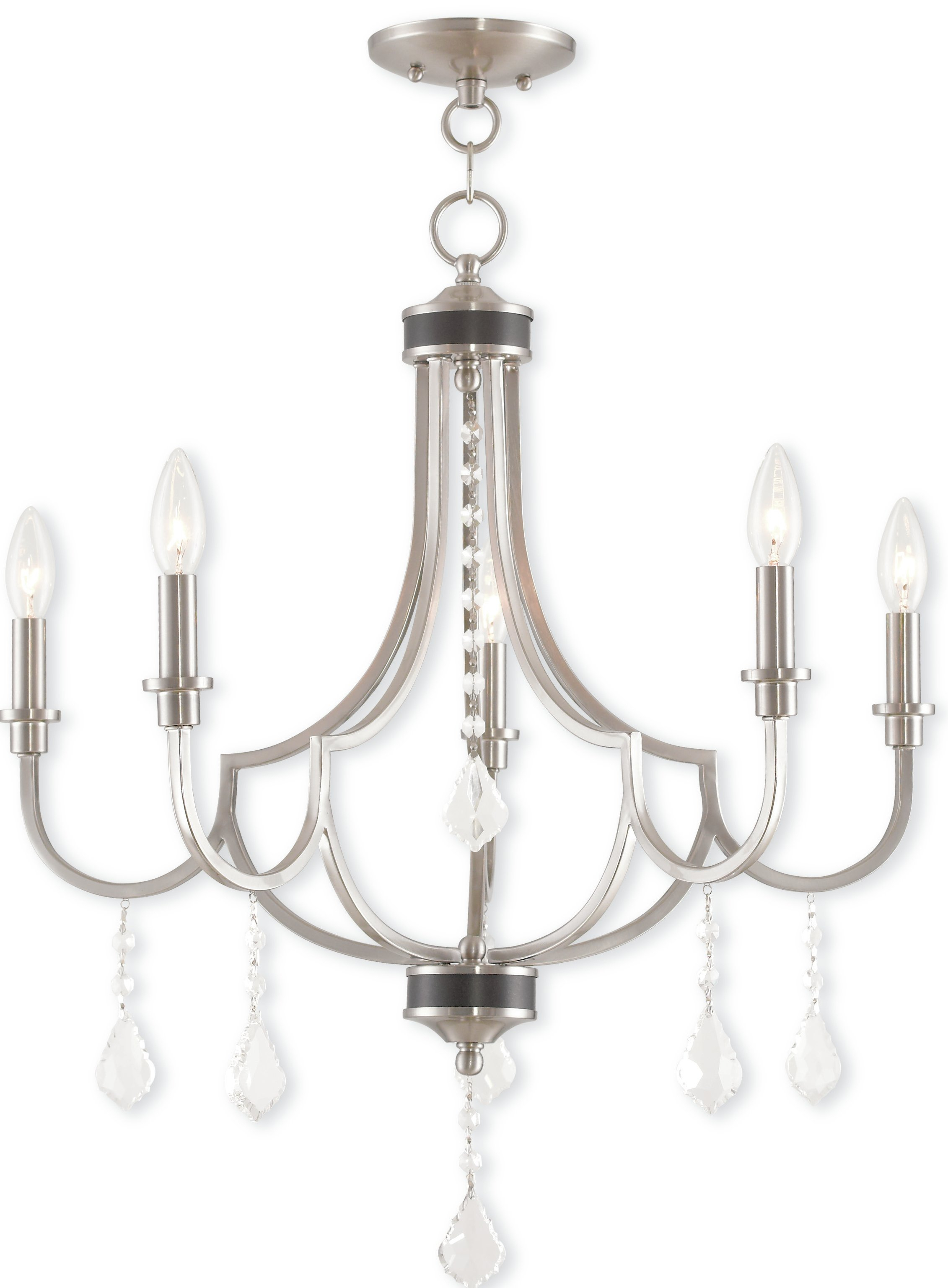 Crayford 5 Light Candle Style Chandelier For Florentina 5 Light Candle Style Chandeliers (View 8 of 30)