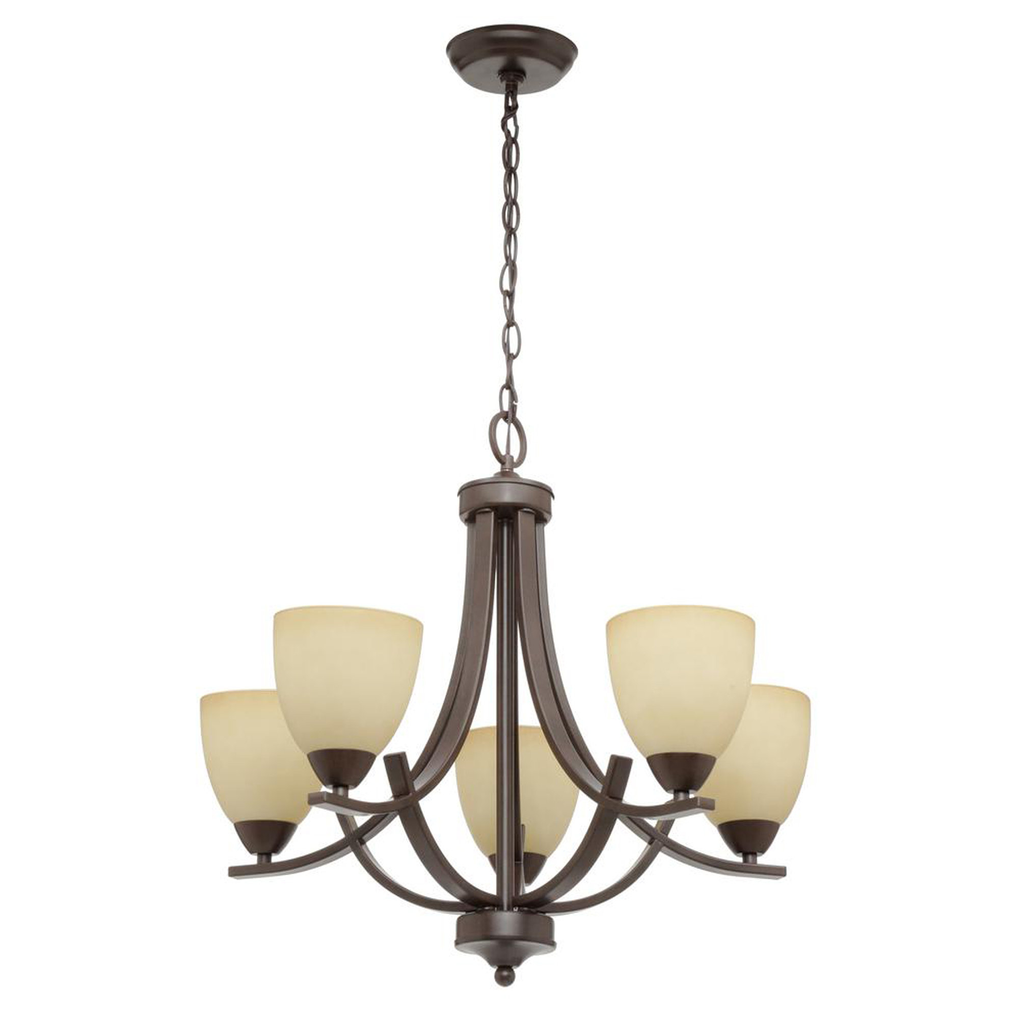 Crofoot 5-Light Shaded Chandelier with regard to Suki 5-Light Shaded Chandeliers (Image 5 of 30)