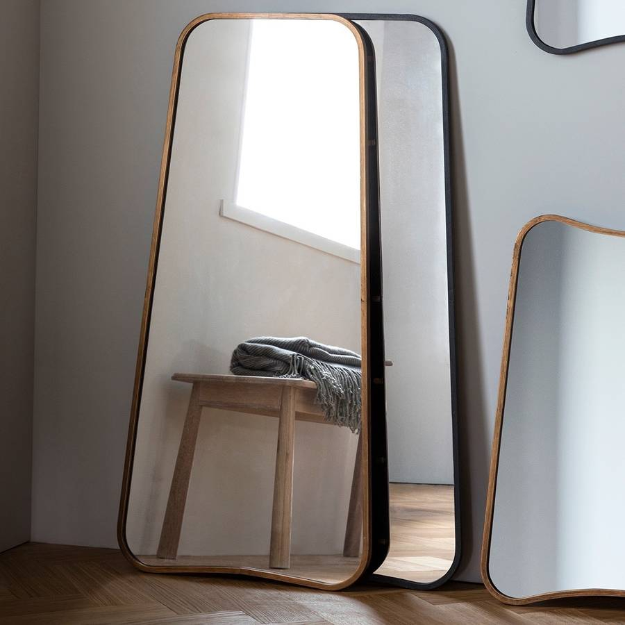 Curved Wall Or Leaning Mirror In Leaning Mirrors (View 3 of 30)