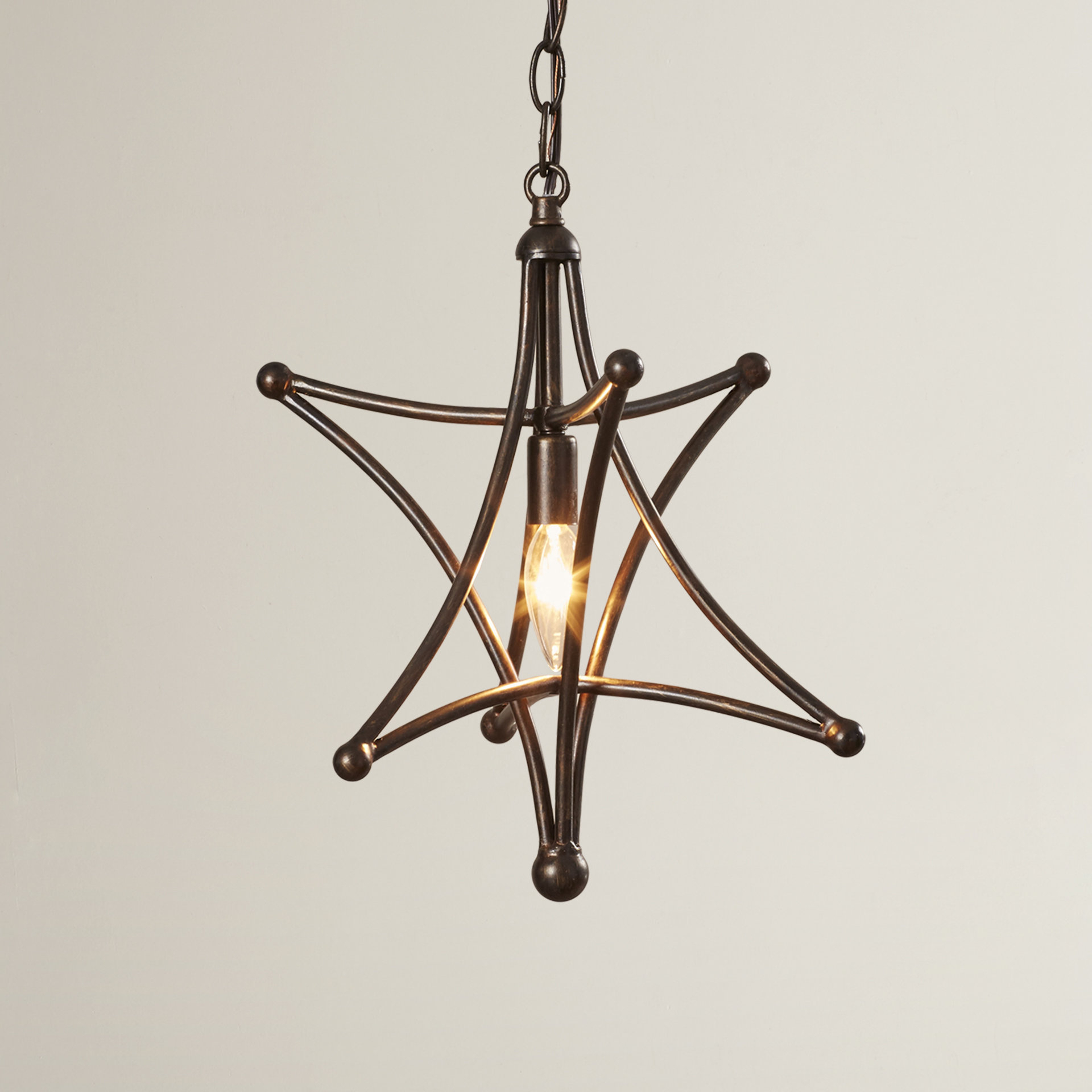 Cynthia 1 Light Single Star Pendant Pertaining To 1 Light Single Star Pendants (View 8 of 30)