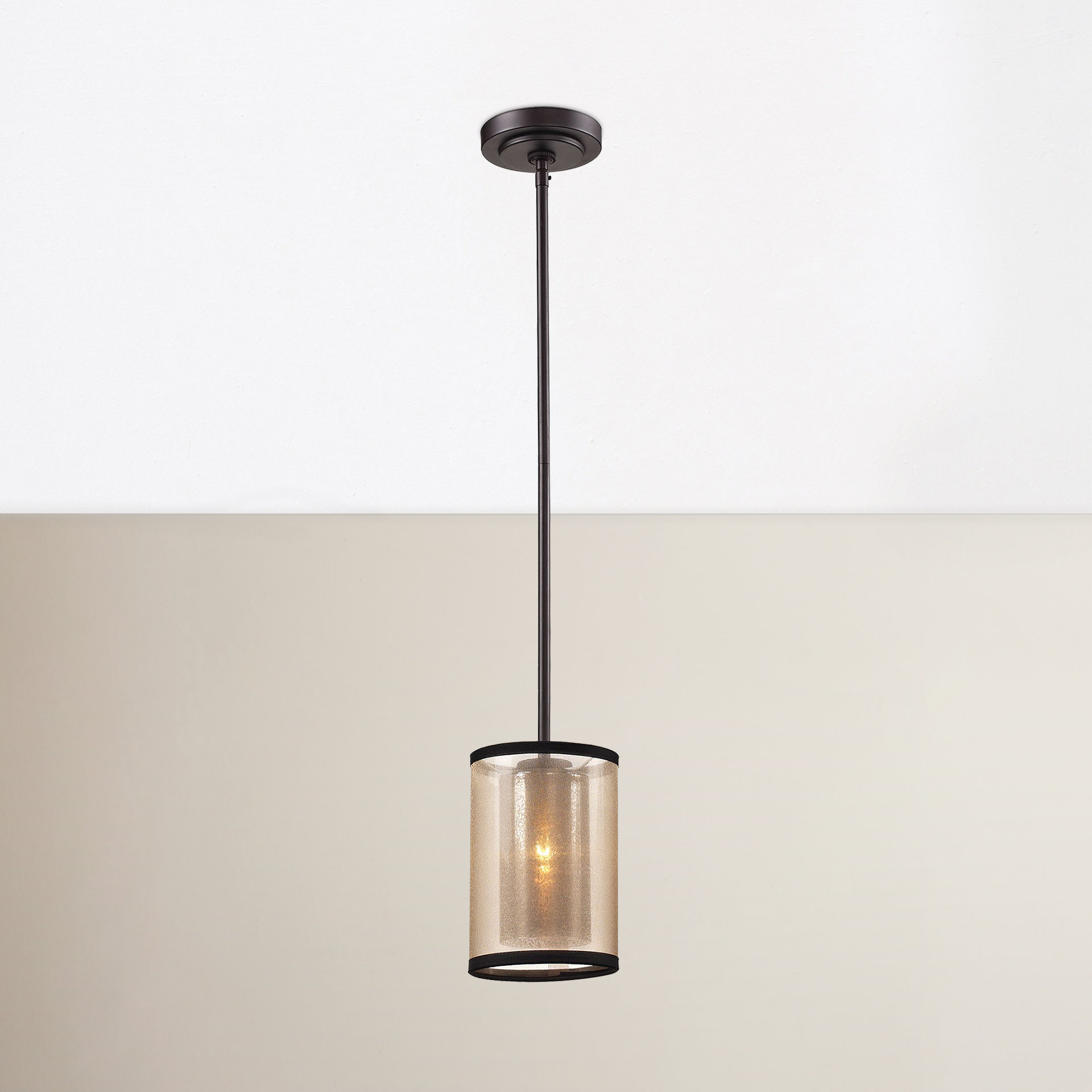 Dailey 1 Light Single Cylinder Pendant With Regard To Bellamira 1 Light Drum Pendants (View 15 of 30)