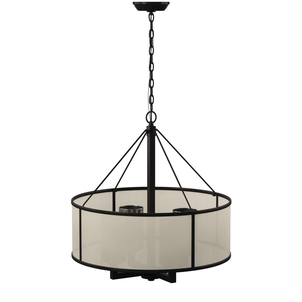 Dailey 4 Light Drum Chandelier Pertaining To Dailey 4 Light Drum Chandeliers (Photo 2 of 30)