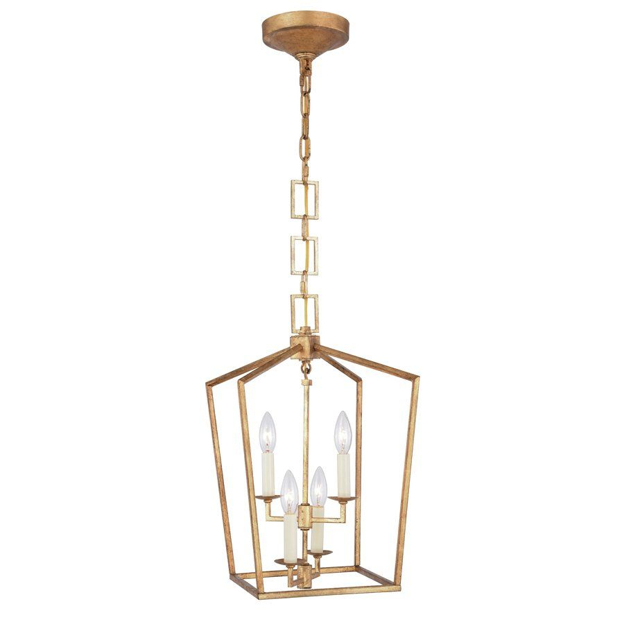 Damon 4-Light Pendant $125.99 | Lighting | Pendant Lighting pertaining to Isoline 2-Light Lantern Geometric Pendants (Image 3 of 30)
