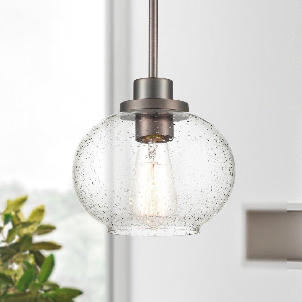 Damp Location Pendant Lighting | Joss & Main For Bainbridge 1 Light Single Cylinder Pendants (View 8 of 30)