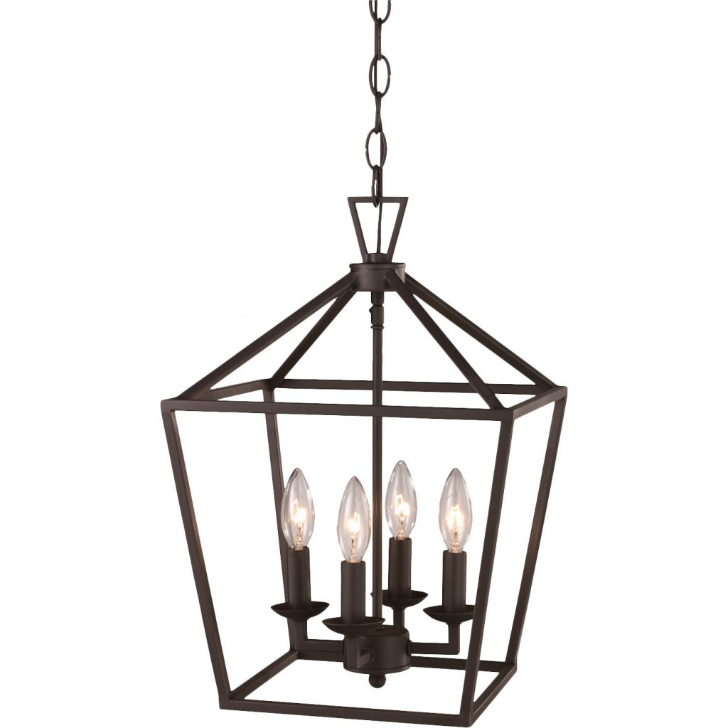 Darlana Pendant Light Copycat   Look For Less | Life On With Carmen 4 Light Lantern Geometric Pendants (Photo 13 of 30)