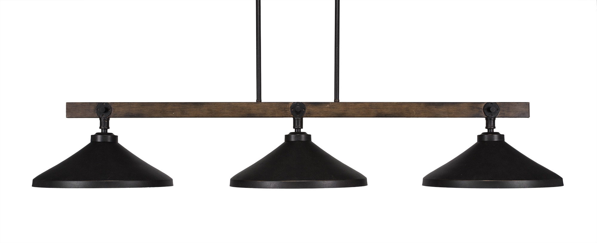 Davidson 3 Light Kitchen Island Pendant With Euclid 2 Light Kitchen Island Linear Pendants (Gallery 21 of 30)