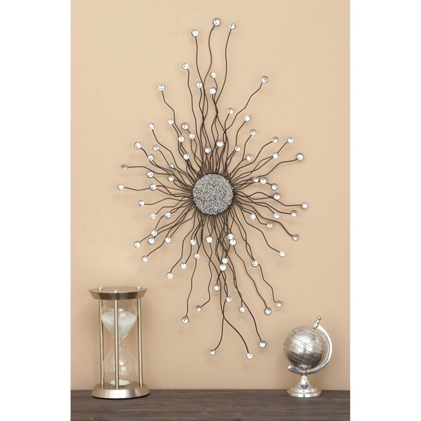 Decmode Medallion Wall Sculpture | Products In 2019 Inside Small Medallion Wall Decor (Photo 10 of 30)