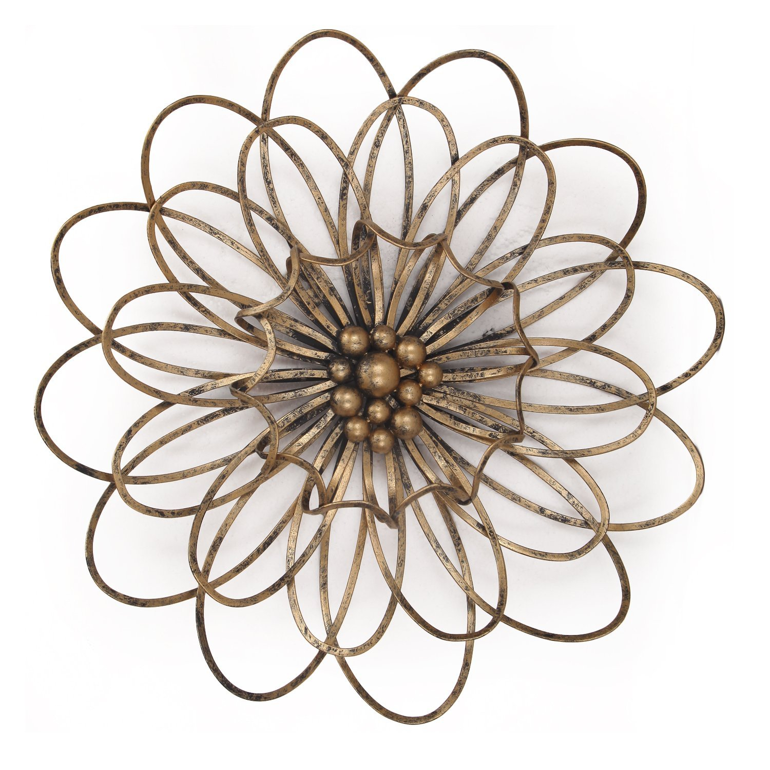 Deco De Ville Wall Metal Decoration Flower Urban Design Metal Wall Decor  For Nature Home Art Decoration & Kitchen Gifts(Dnd0018) intended for Flower Urban Design Metal Wall Decor (Image 10 of 30)