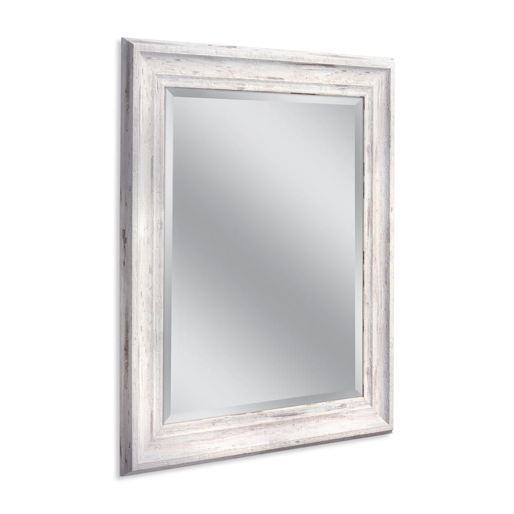 Deco Mirror Farmhouse 29 In. W X 35 In. H Framed Wall Mirror pertaining to Bartolo Accent Mirrors (Image 13 of 30)
