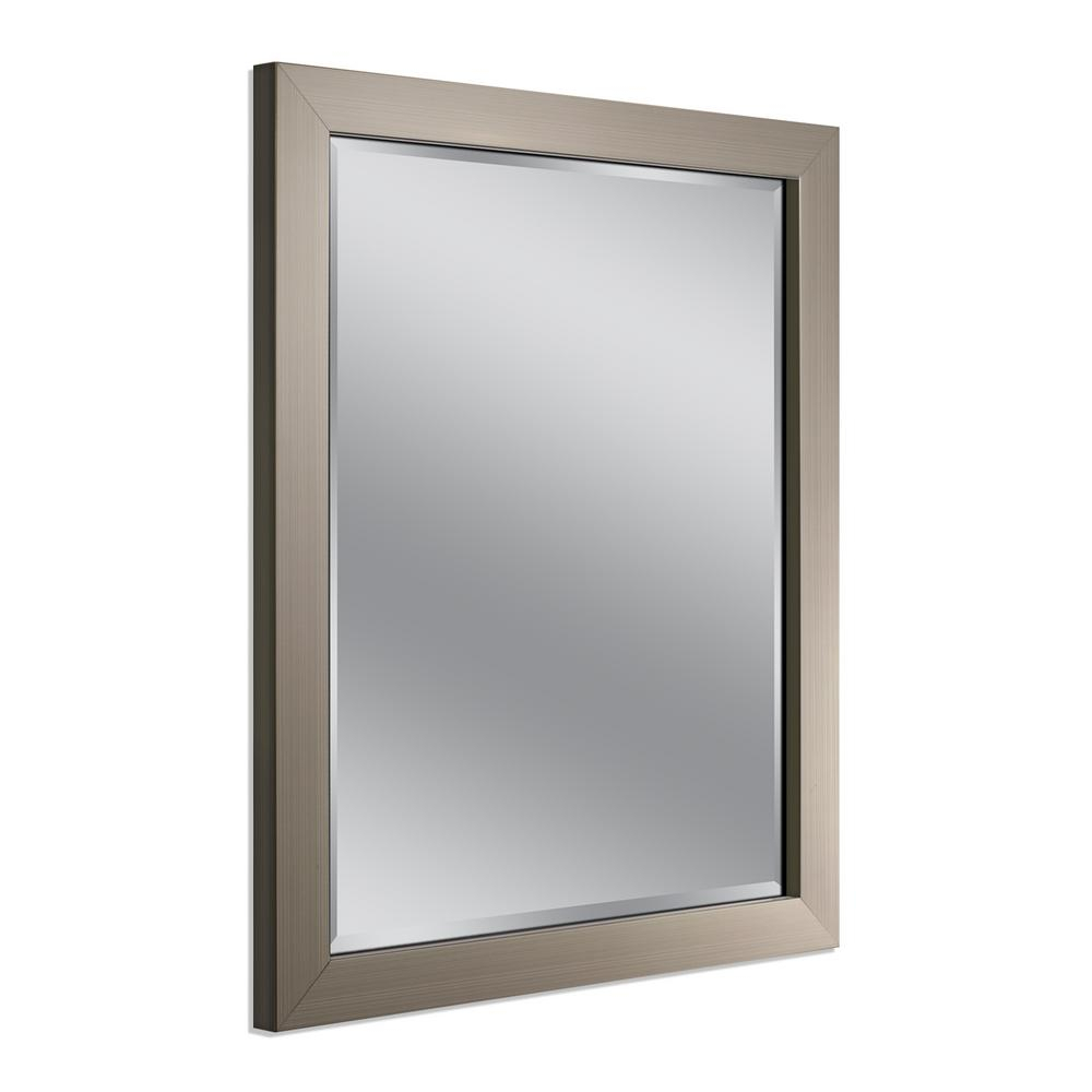 Deco Mirror Modern 26 In. X 32 In (Image 12 of 30)