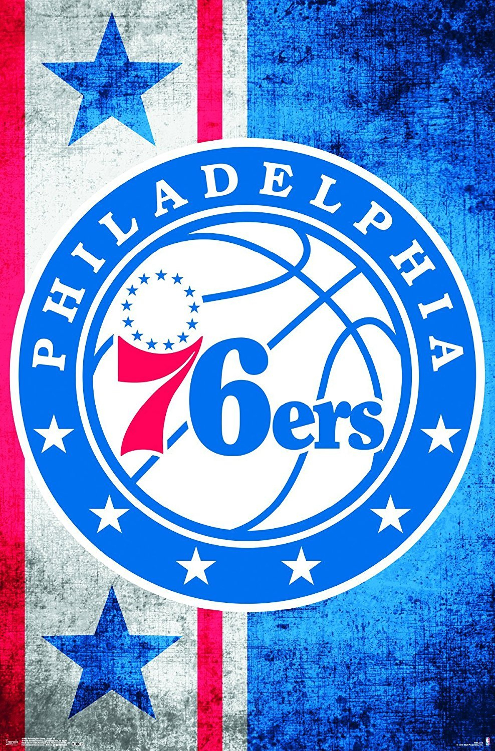 Décor Nba Philadelphia 76Ers Framed Logo Mirror pertaining to Rhein Accent Mirrors (Image 11 of 30)