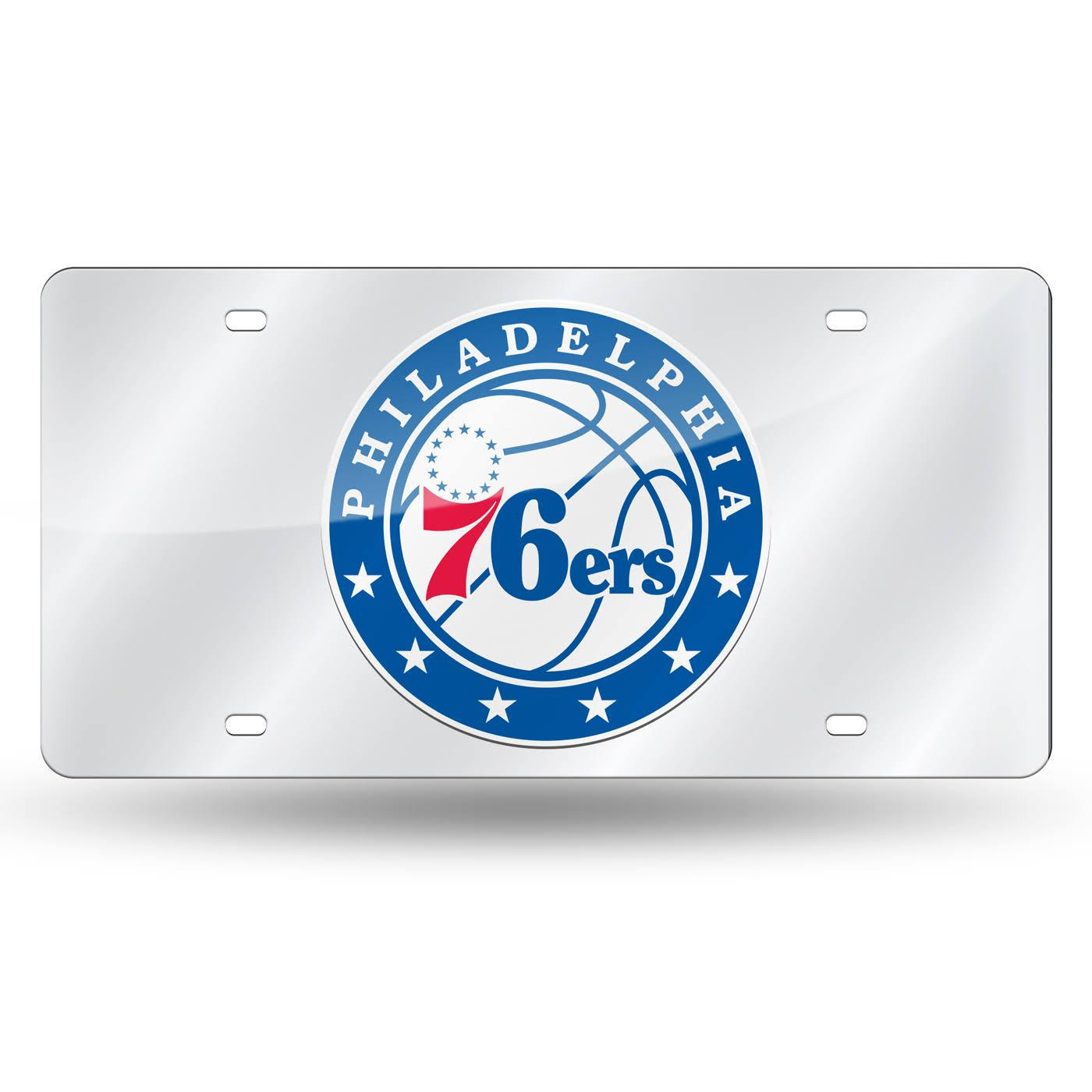Décor Nba Philadelphia 76Ers Framed Logo Mirror with regard to Rhein Accent Mirrors (Image 12 of 30)