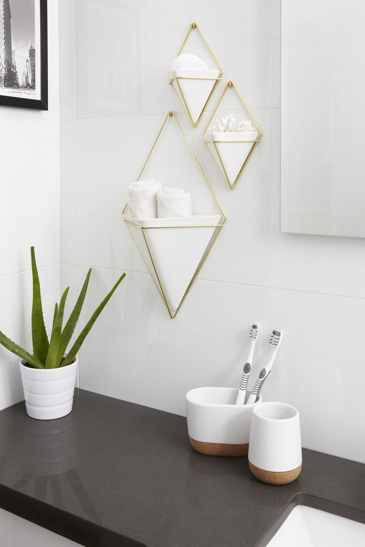 Decor Umbra Wall Decor With Set 3 Trigg Vessel Wall Which Is Within Trigg Ceramic Planter Wall Decor (Gallery 21 of 30)