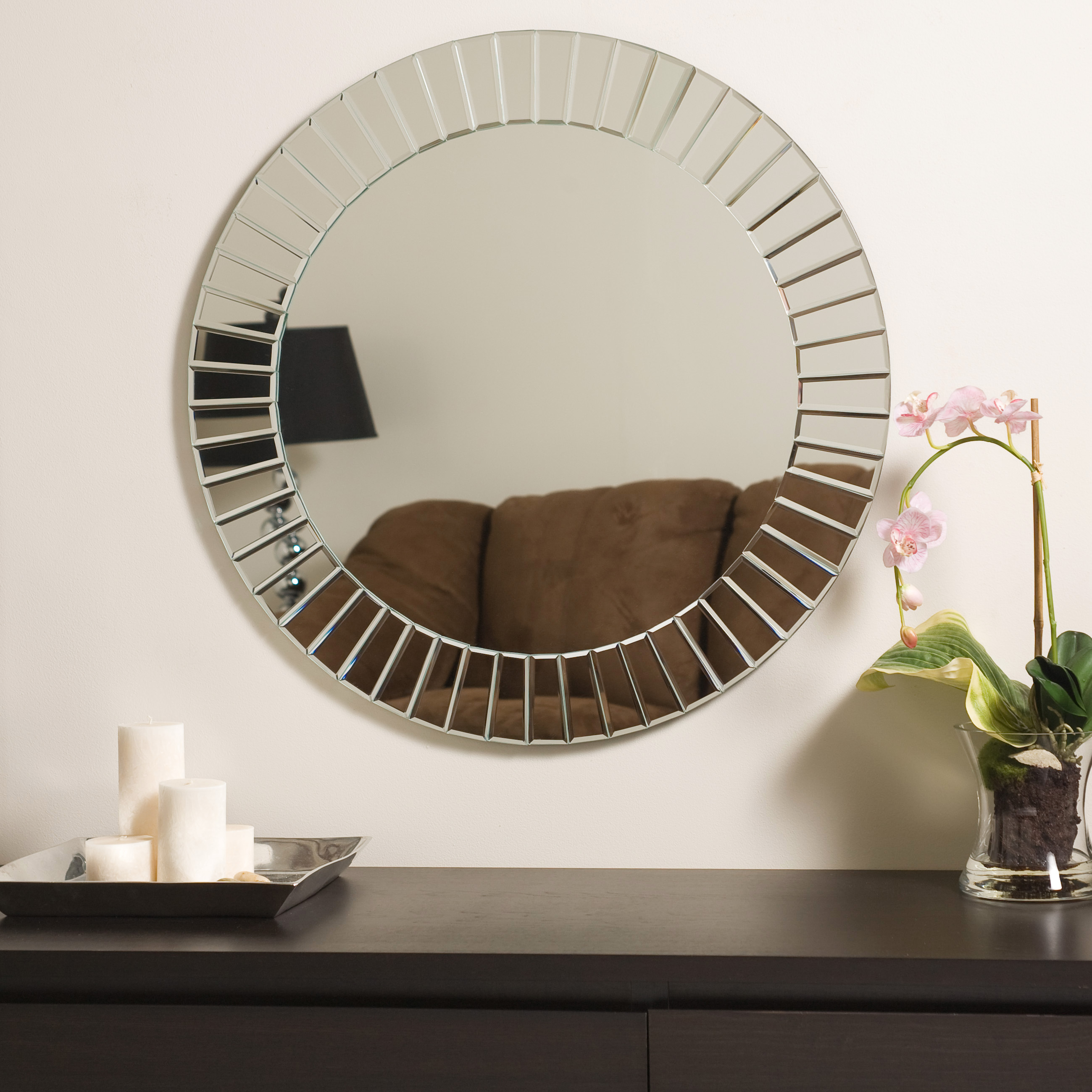Decor Wonderland Pertaining To Modern & Contemporary Beveled Wall Mirrors (Gallery 29 of 30)