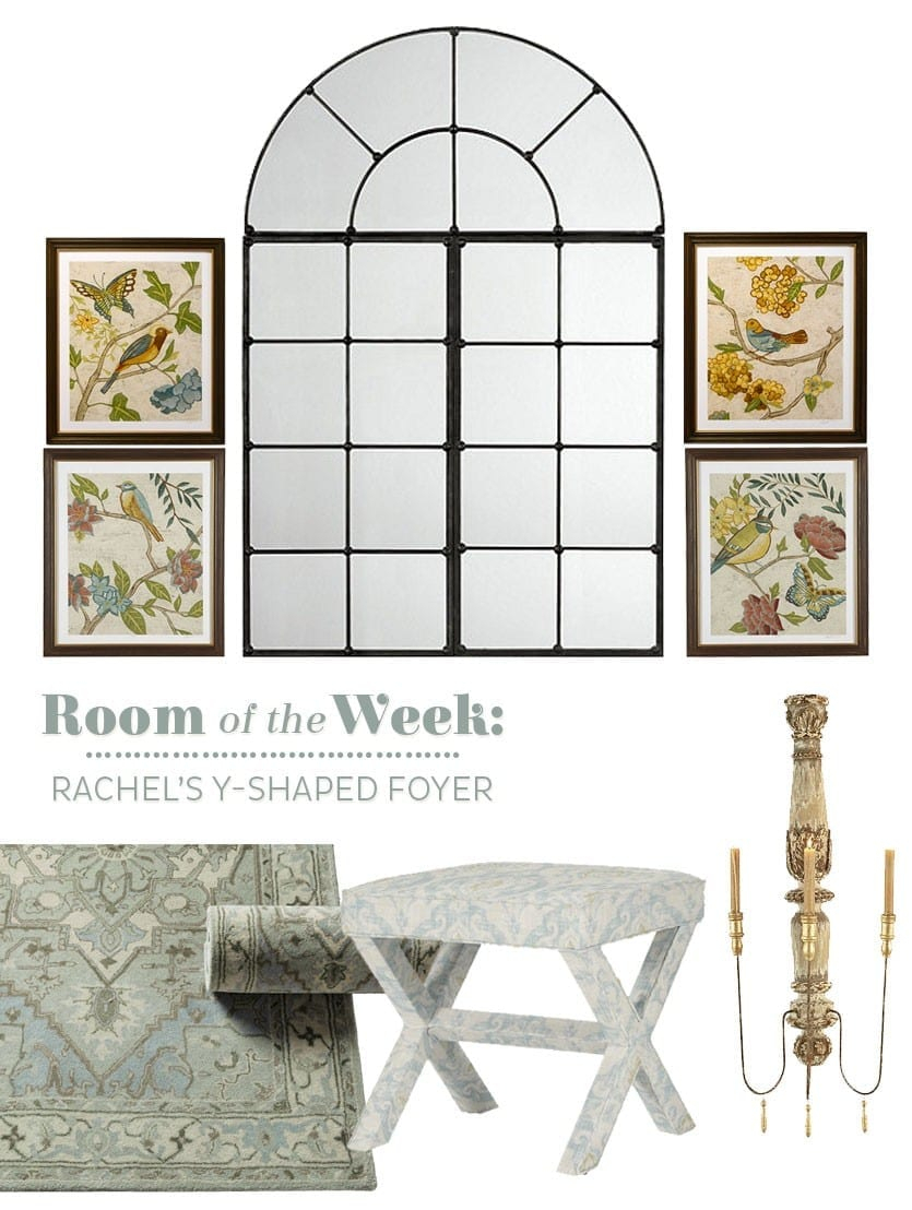 Decorating Dilemmas: Rachel's Foyer | How To Decorate Intended For Landing Art Wall Decor (Gallery 4 of 30)