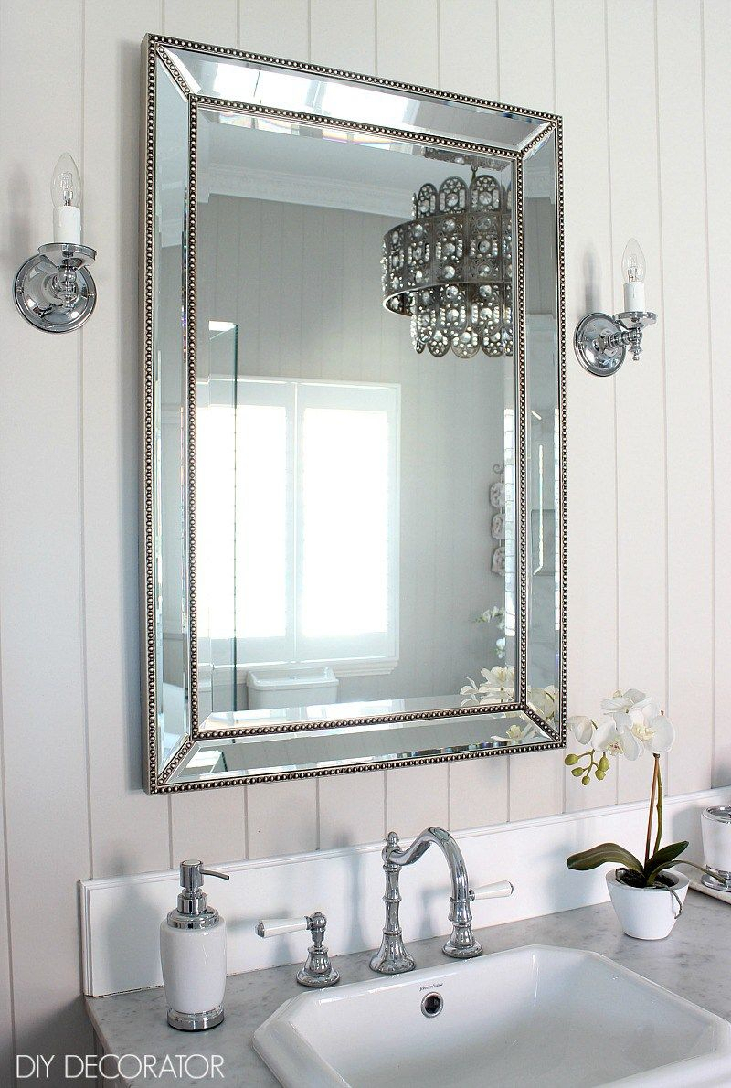 Decorating Plan - Decor And Furnishings | Home Decor Ideas with regard to Estefania Frameless Wall Mirrors (Image 6 of 30)