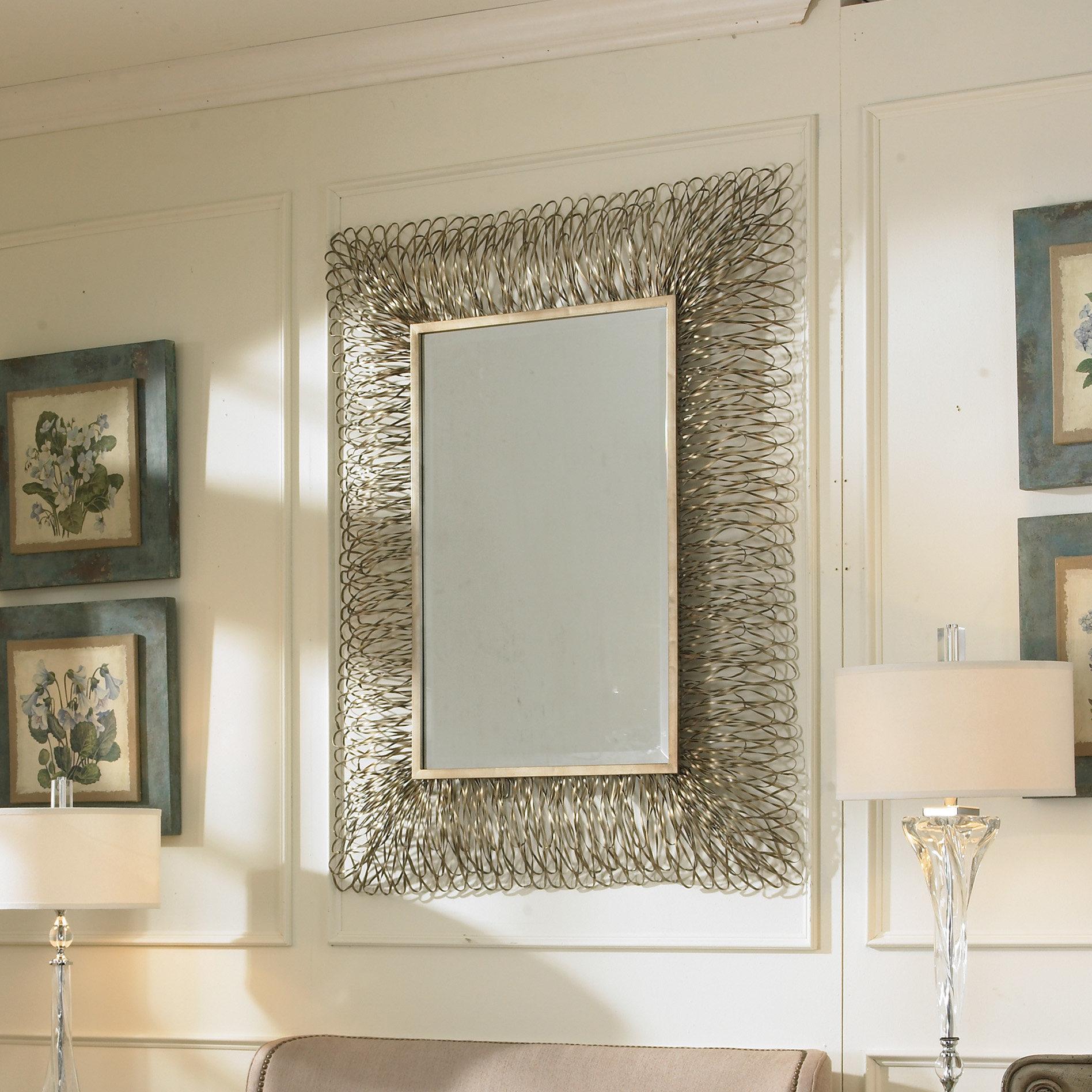 Decorative Wall Mirrors Tiles | Wayfair Inside Bem Decorative Wall Mirrors (View 15 of 30)